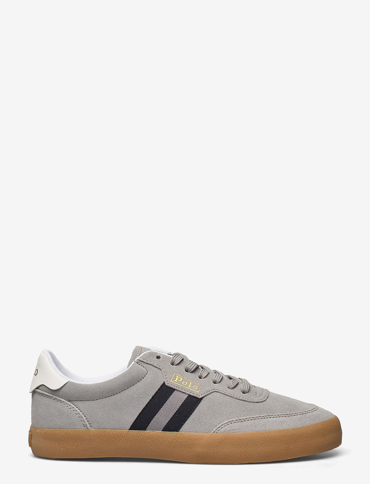 Polo Ralph Lauren - SENIOR SUEDE-CRT VLC-PWNG-SK-VLC - low tops - soft grey - 1