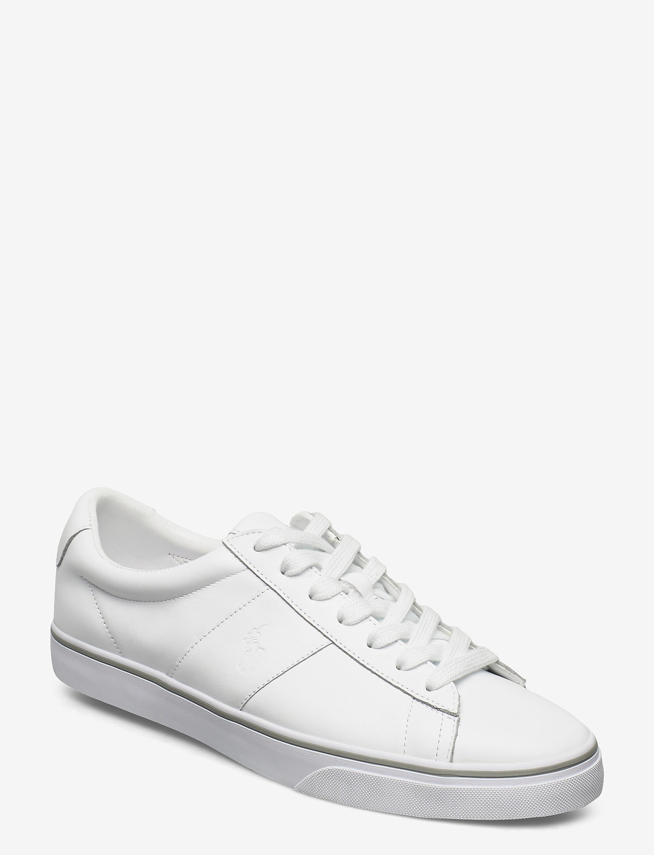 Polo Ralph Lauren - Sayer Leather Sneaker - low tops - rl white - 0