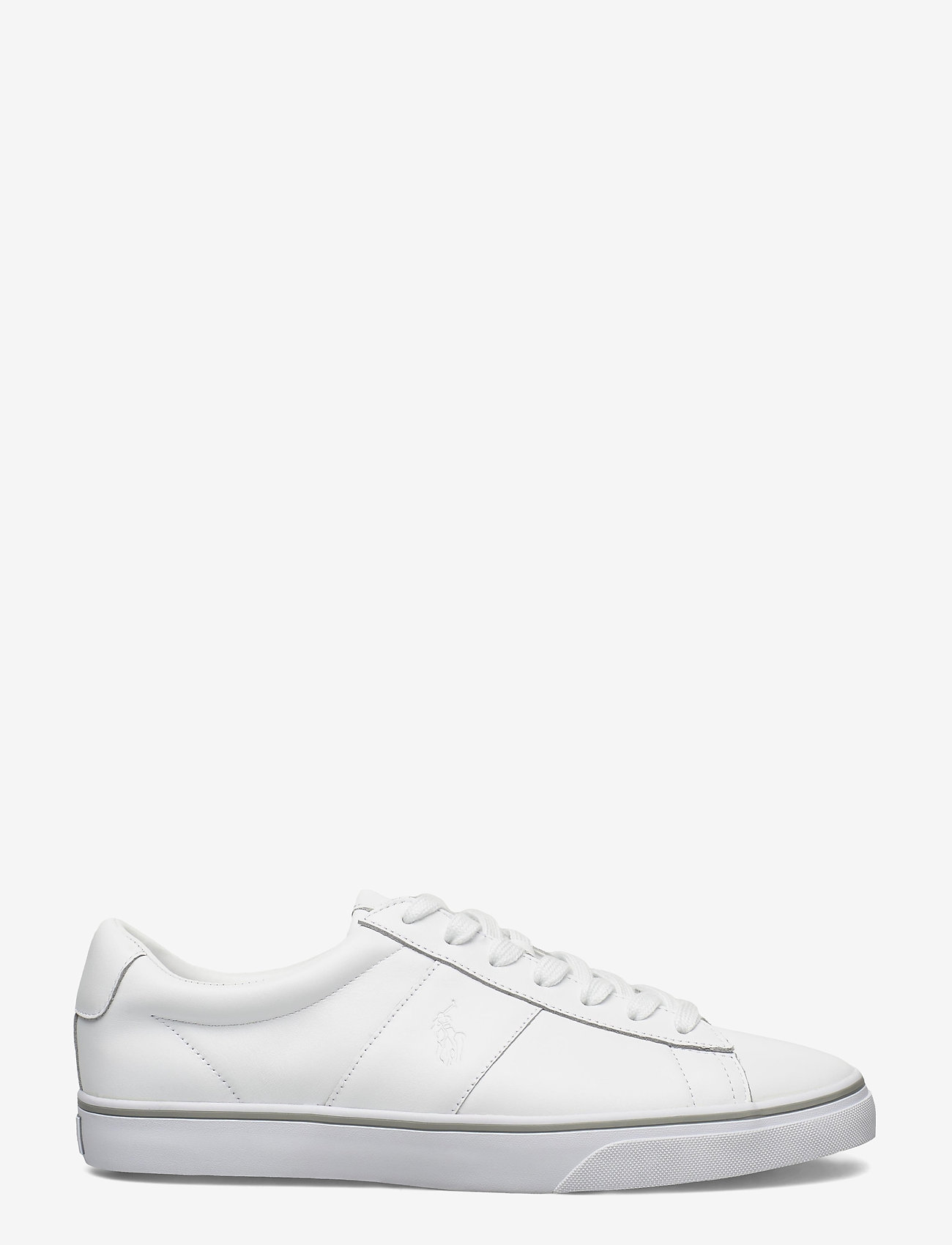 Polo Ralph Lauren - Sayer Leather Sneaker - low tops - rl white - 1