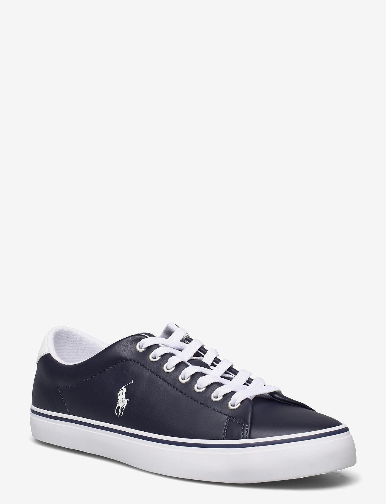 Polo Ralph Lauren - Longwood Leather Sneaker - low tops - hunter navy/white - 0