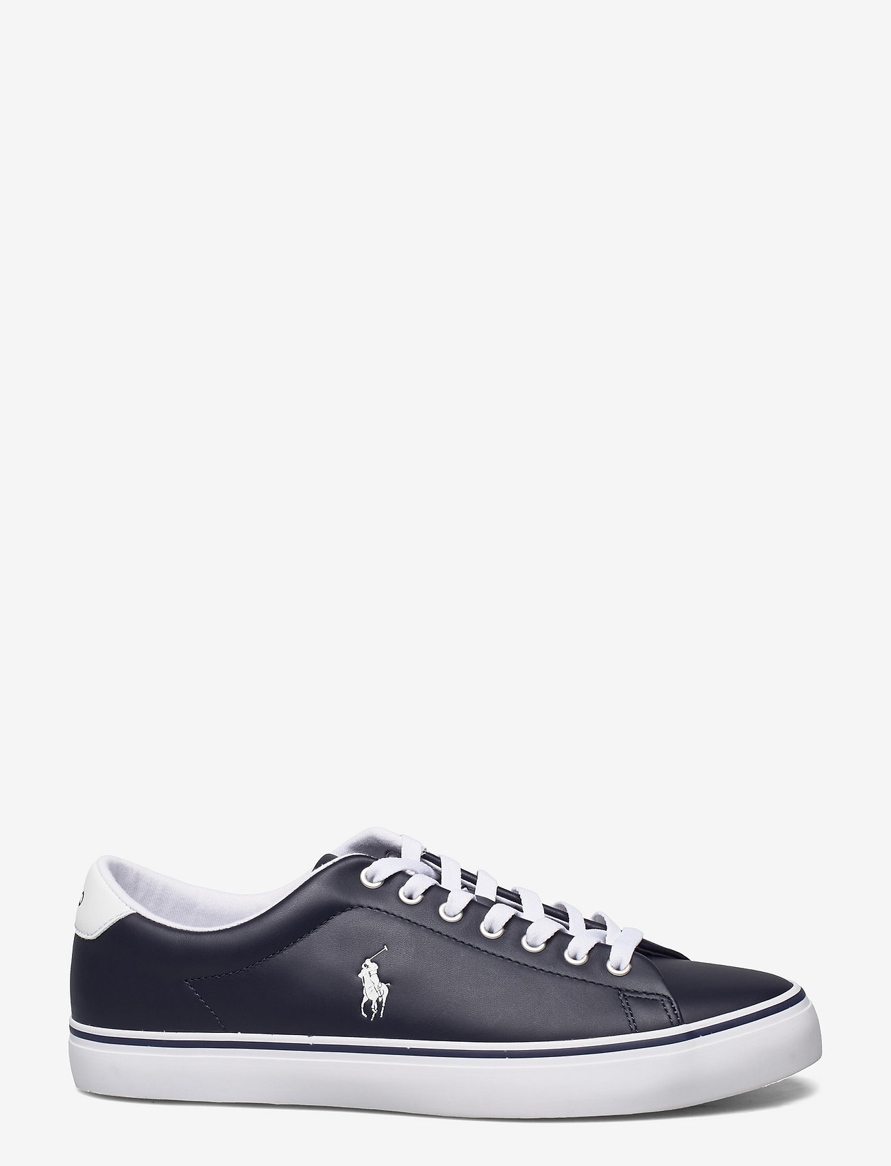 Polo Ralph Lauren - Longwood Leather Sneaker - low tops - hunter navy/white - 1