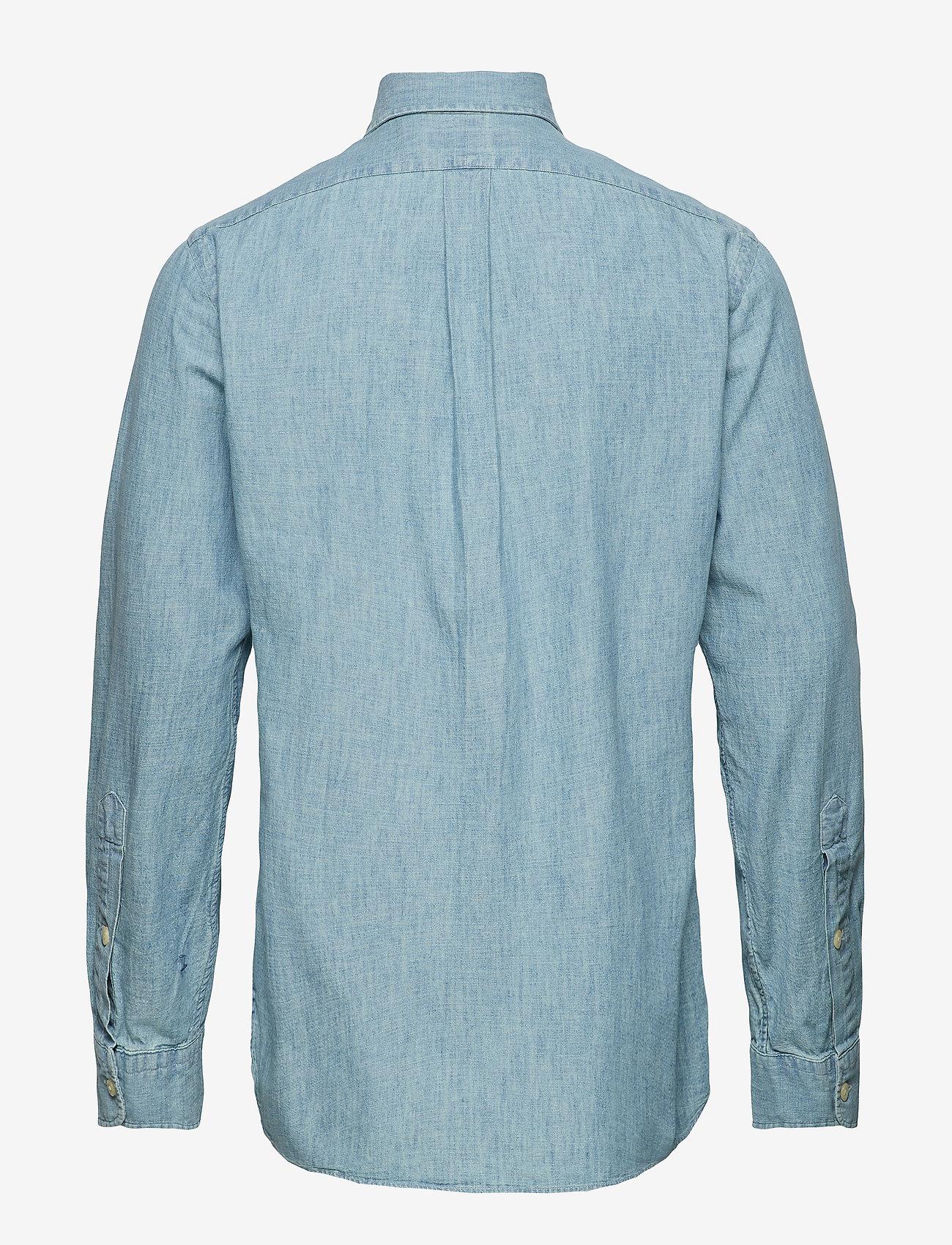 Polo Ralph Lauren - Classic Fit Denim Sport Shirt - denim shirts - medium wash