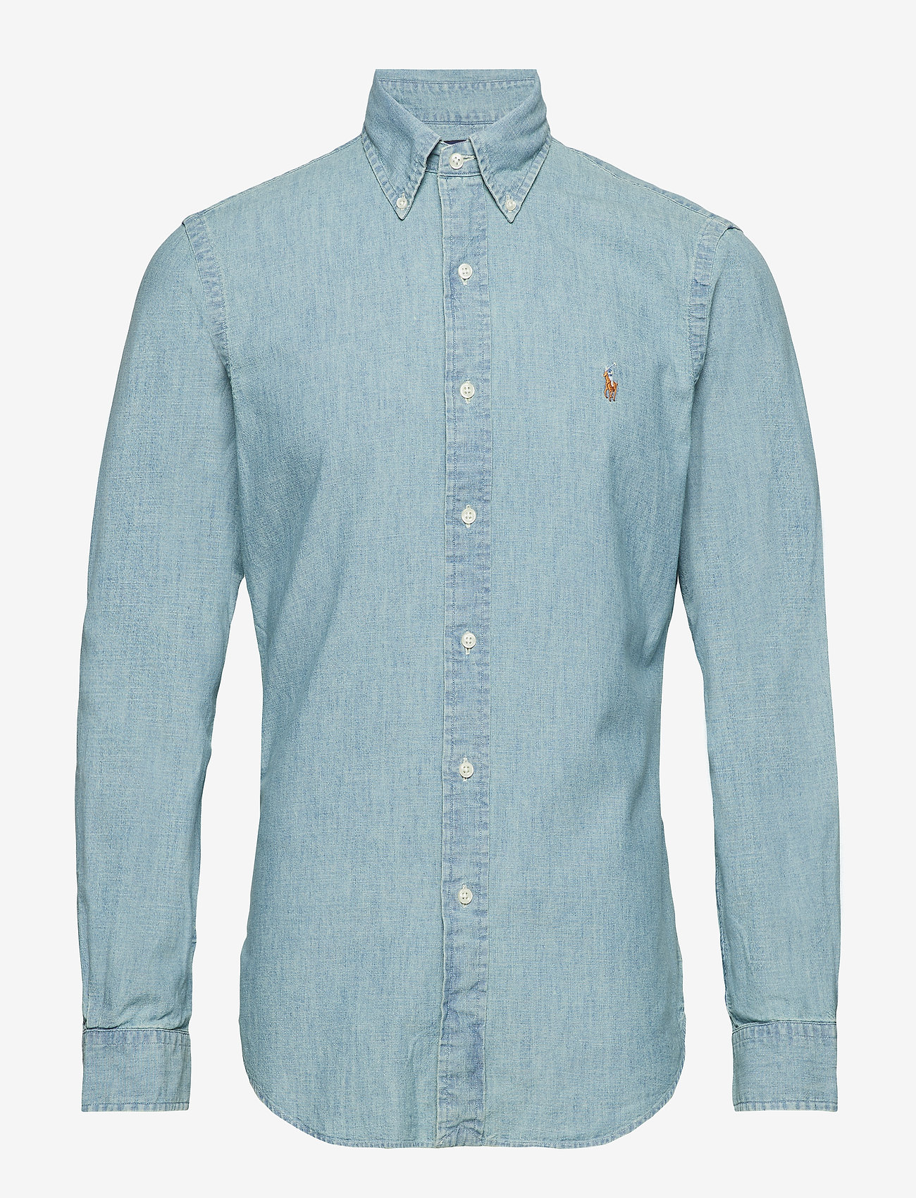 Polo Ralph Lauren - Slim Fit Chambray Shirt - denim overhemden - medium wash - 1