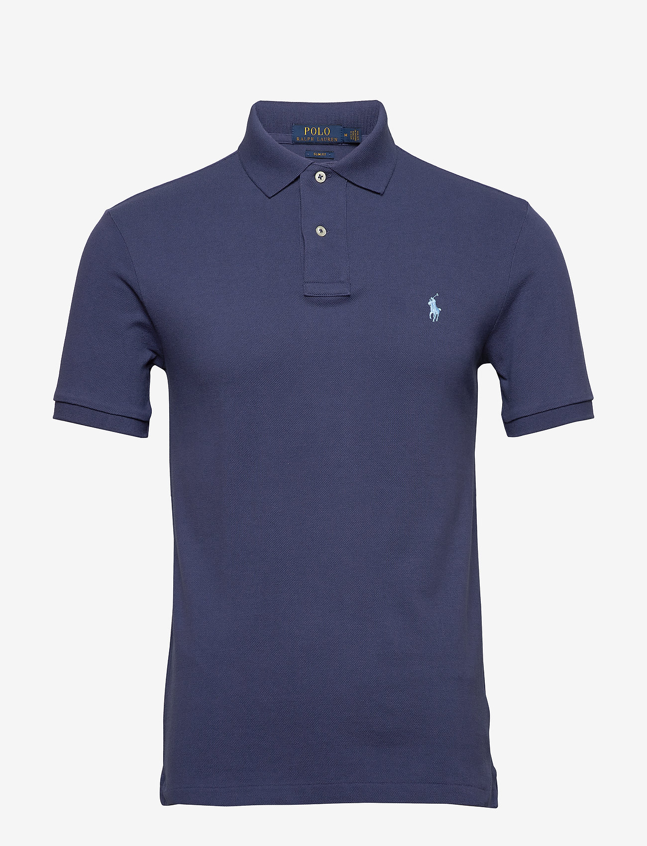 Polo Ralph Lauren - Slim Fit Mesh Polo Shirt - short-sleeved polos - boathouse navy/c7 - 0