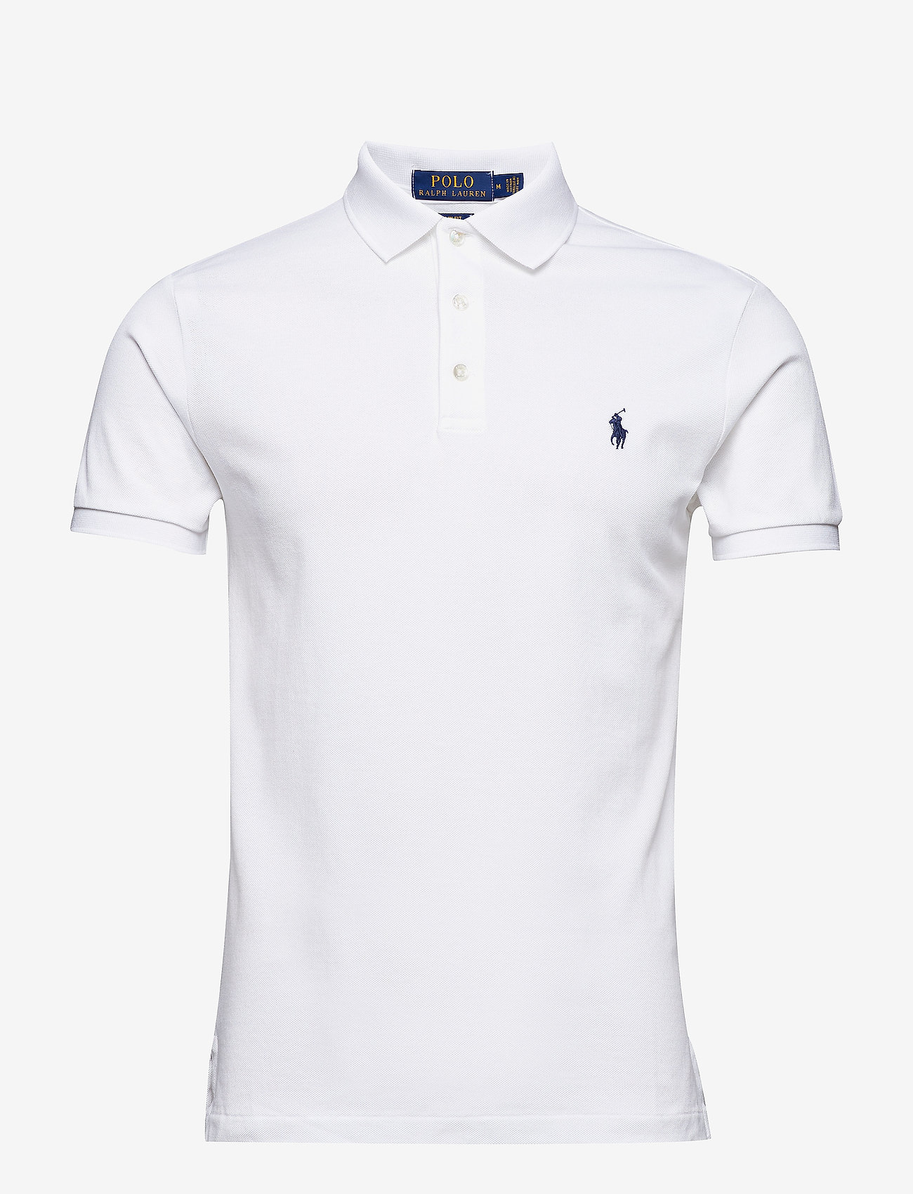 Polo Ralph Lauren - Slim Fit Stretch Mesh Polo - short-sleeved polos - white - 0