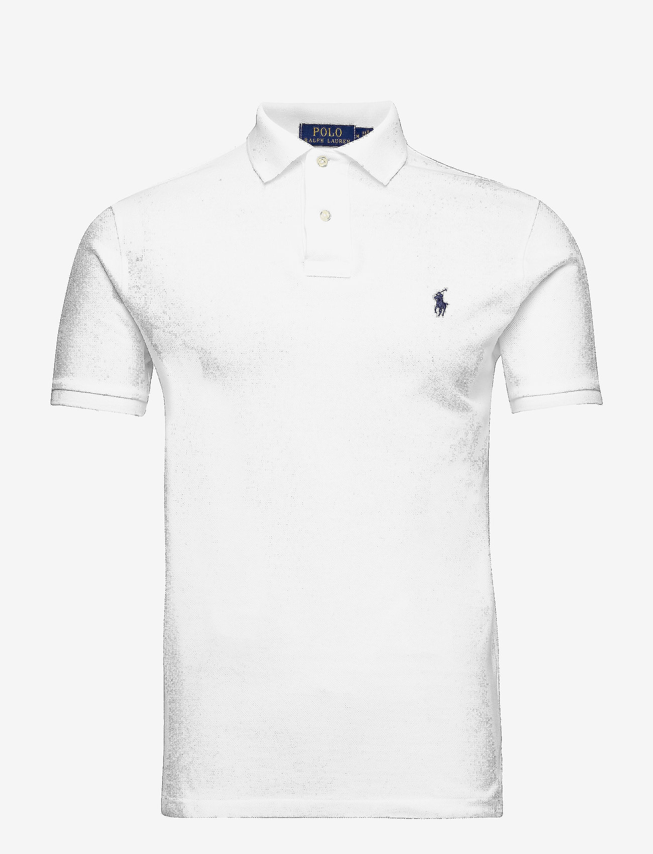 Polo Ralph Lauren - Slim Fit Mesh Polo Shirt - short-sleeved polos - white - 1