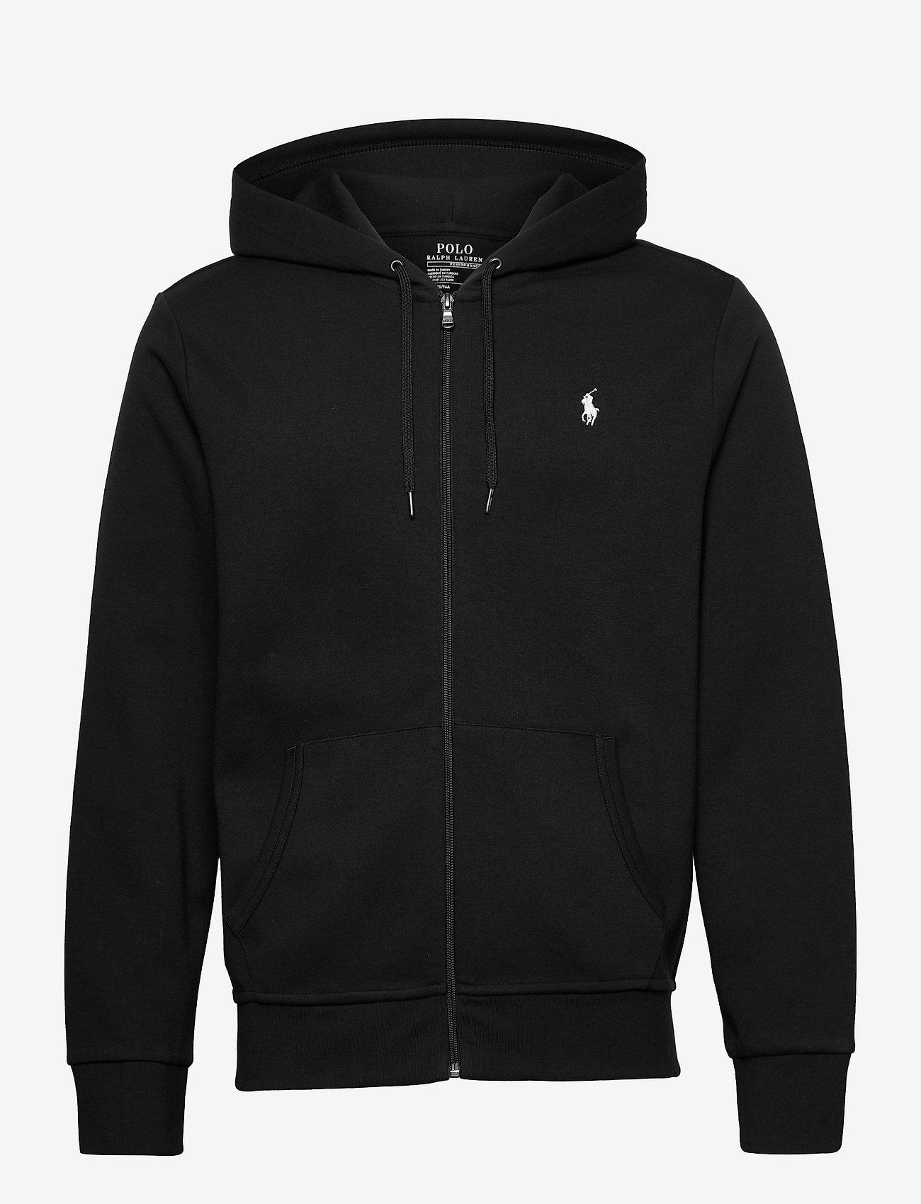 Polo Ralph Lauren - Double-Knit Full-Zip Hoodie - hoodies - polo black - 0