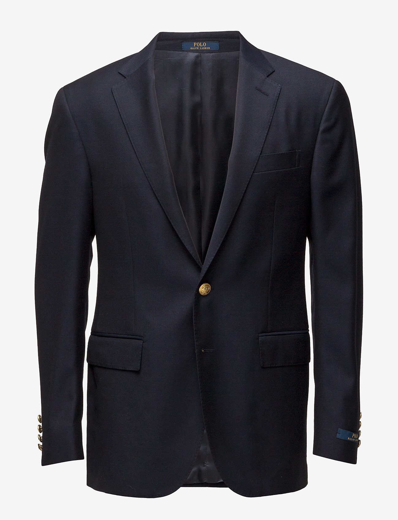 Polo Ralph Lauren - Polo Wool Twill Sport Coat - single breasted blazers - classic navy