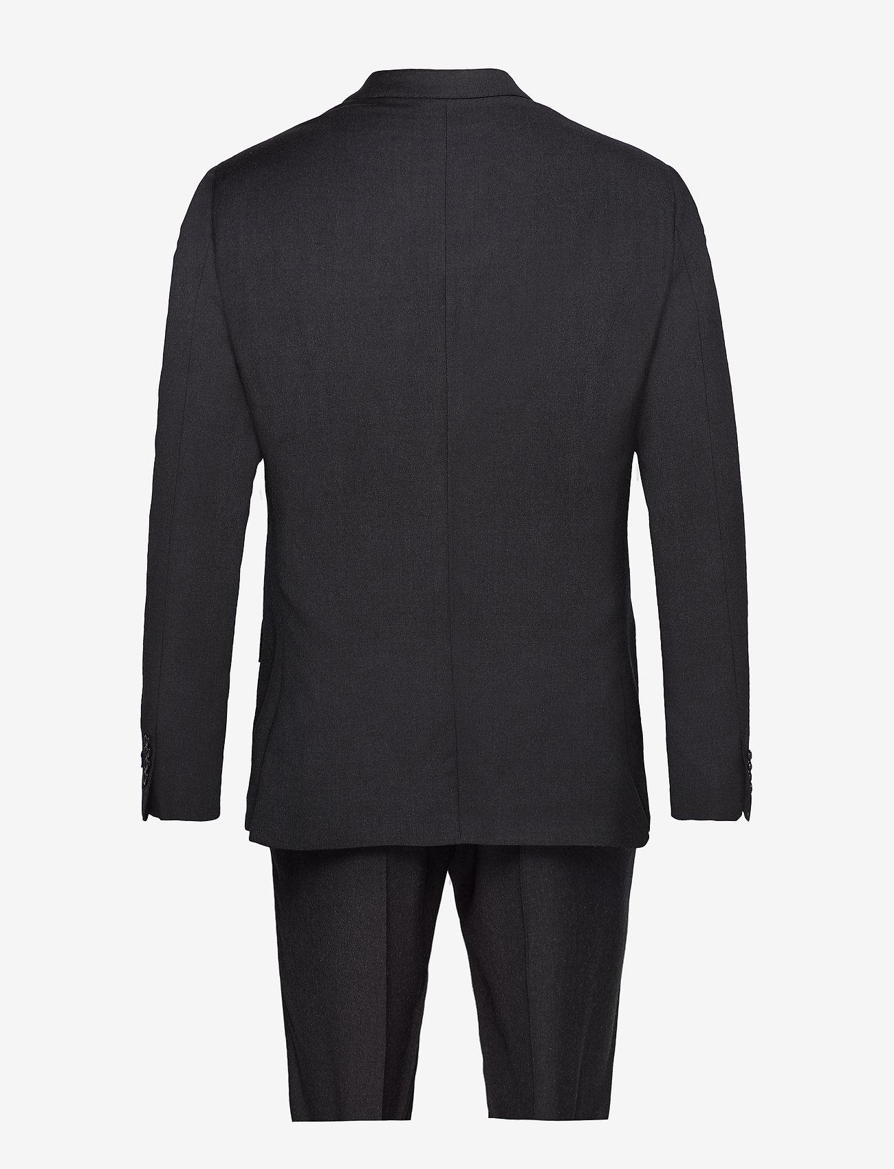 Polo Ralph Lauren - Polo Wool Twill Suit - Žaketes ar vienas pogas aizdari - charcoal - 1