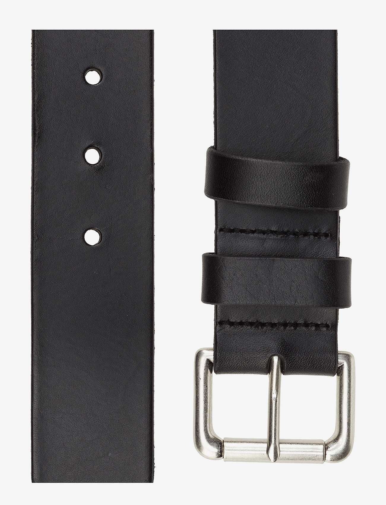 Polo Ralph Lauren - Calfskin Leather Belt - belts - black - 1