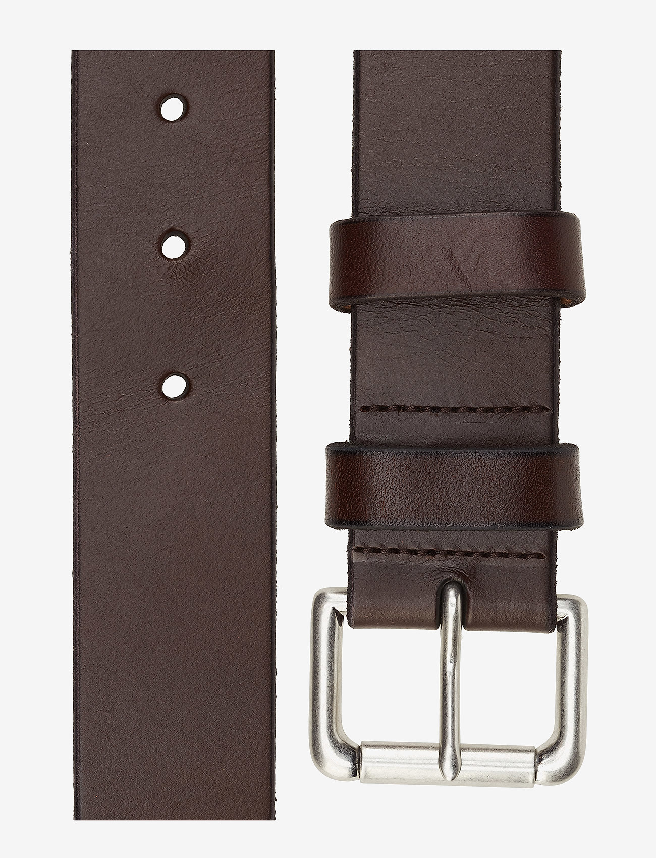 Polo Ralph Lauren - Calfskin Leather Belt - classic belts - brown