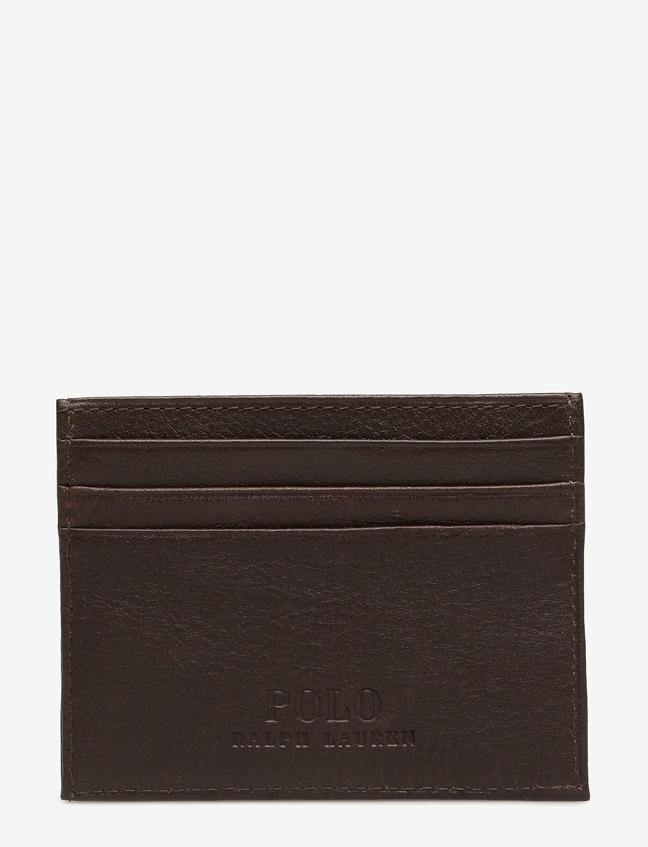Polo Ralph Lauren - Pebble Leather Card Case - cardholder - brown - 1