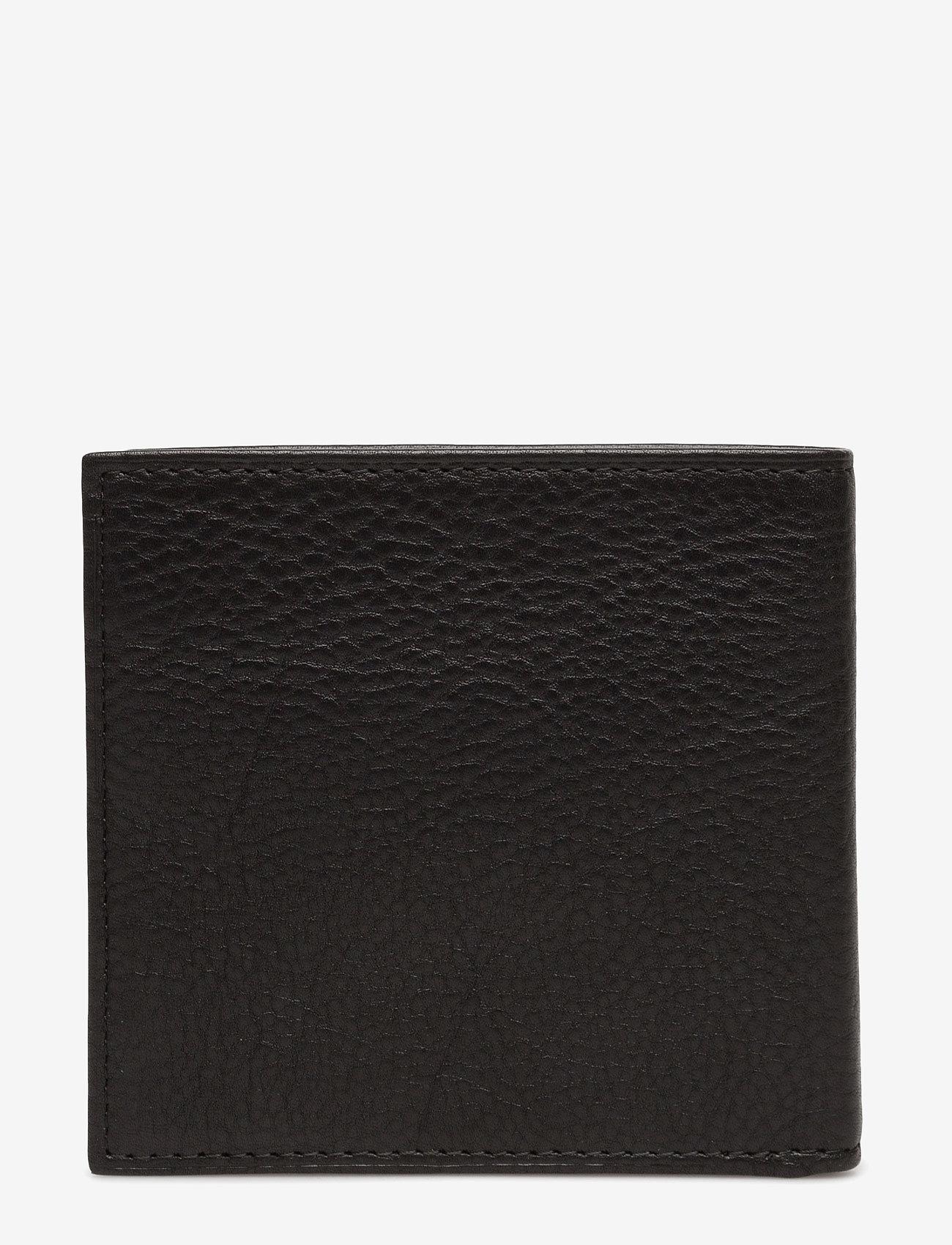 Polo Ralph Lauren - Leather Billfold Wallet - wallets - black - 1