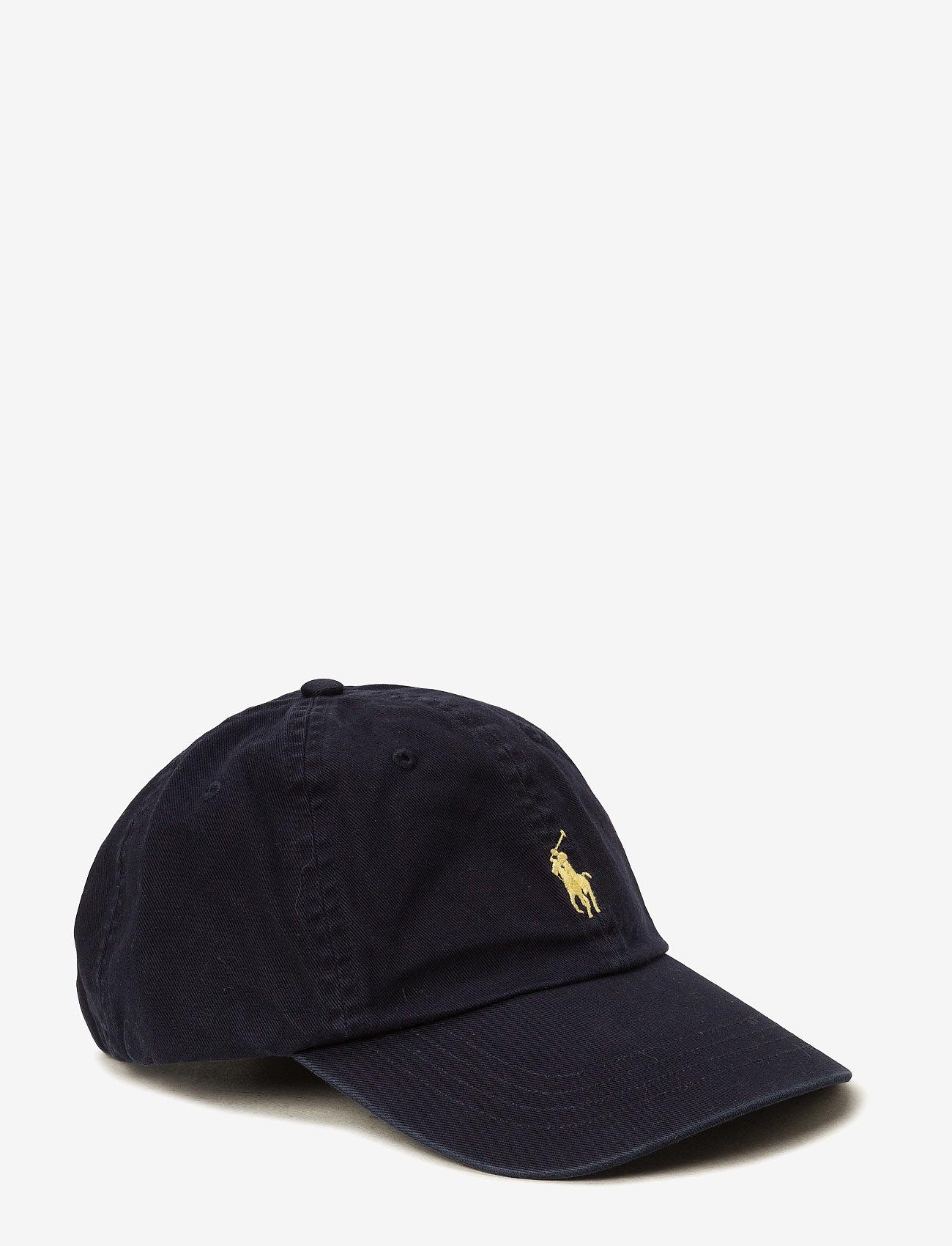 Polo Ralph Lauren - Cotton Chino Baseball Cap - lippalakit - relay blue/yell - 0