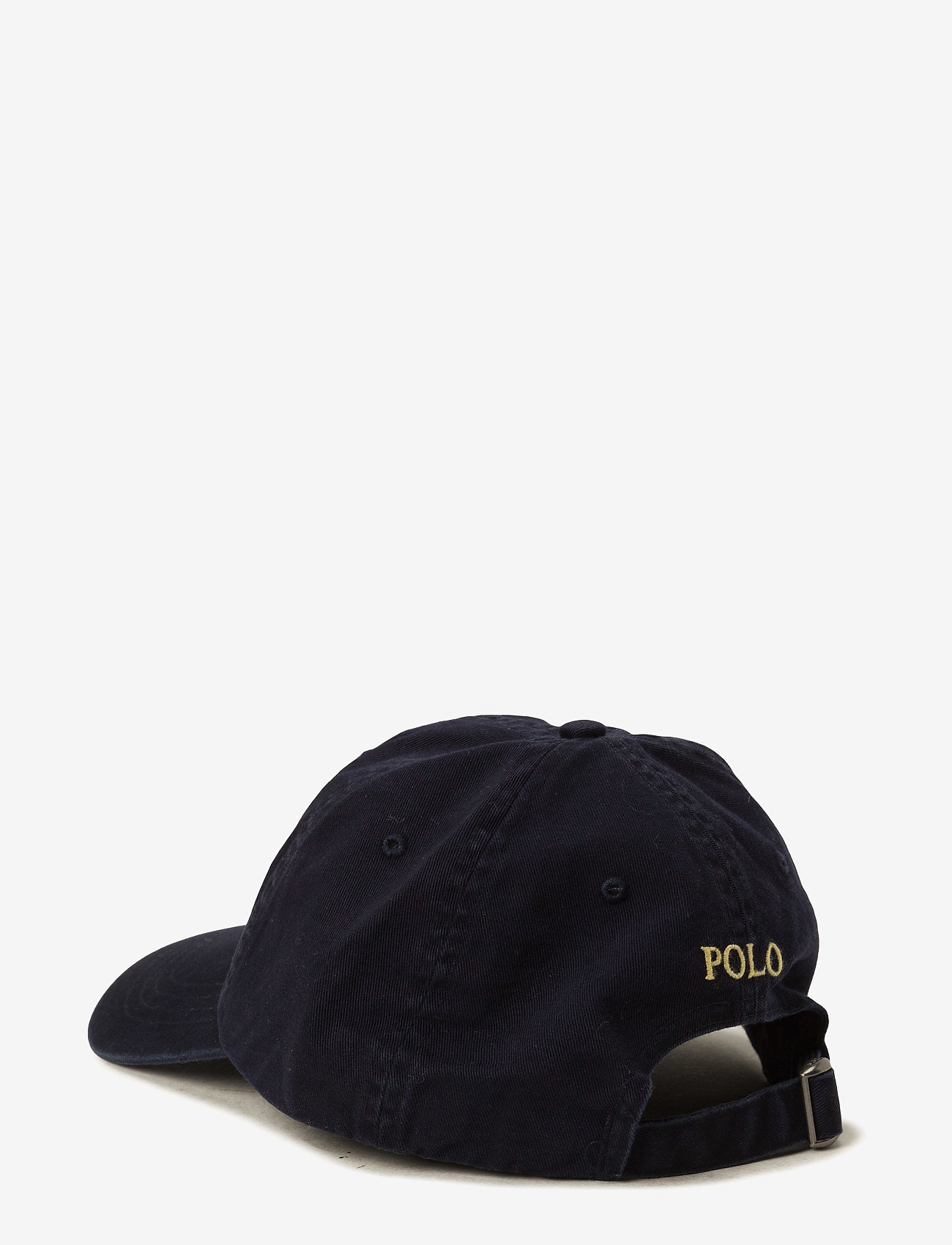 Polo Ralph Lauren - Cotton Chino Baseball Cap - lippalakit - relay blue/yell - 1