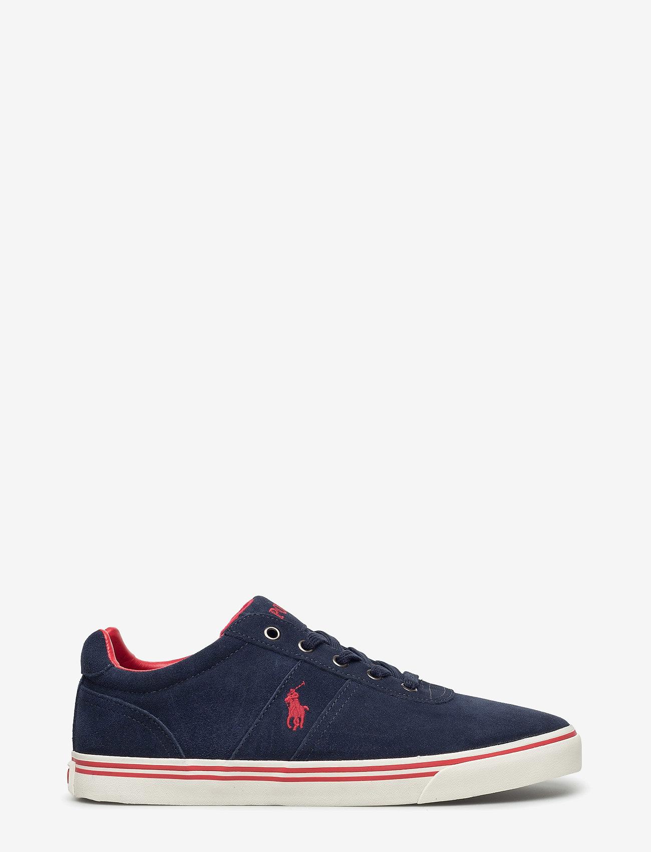 Polo Ralph Lauren - Hanford Suede Low-Top Sneaker - low tops - newport navy - 1
