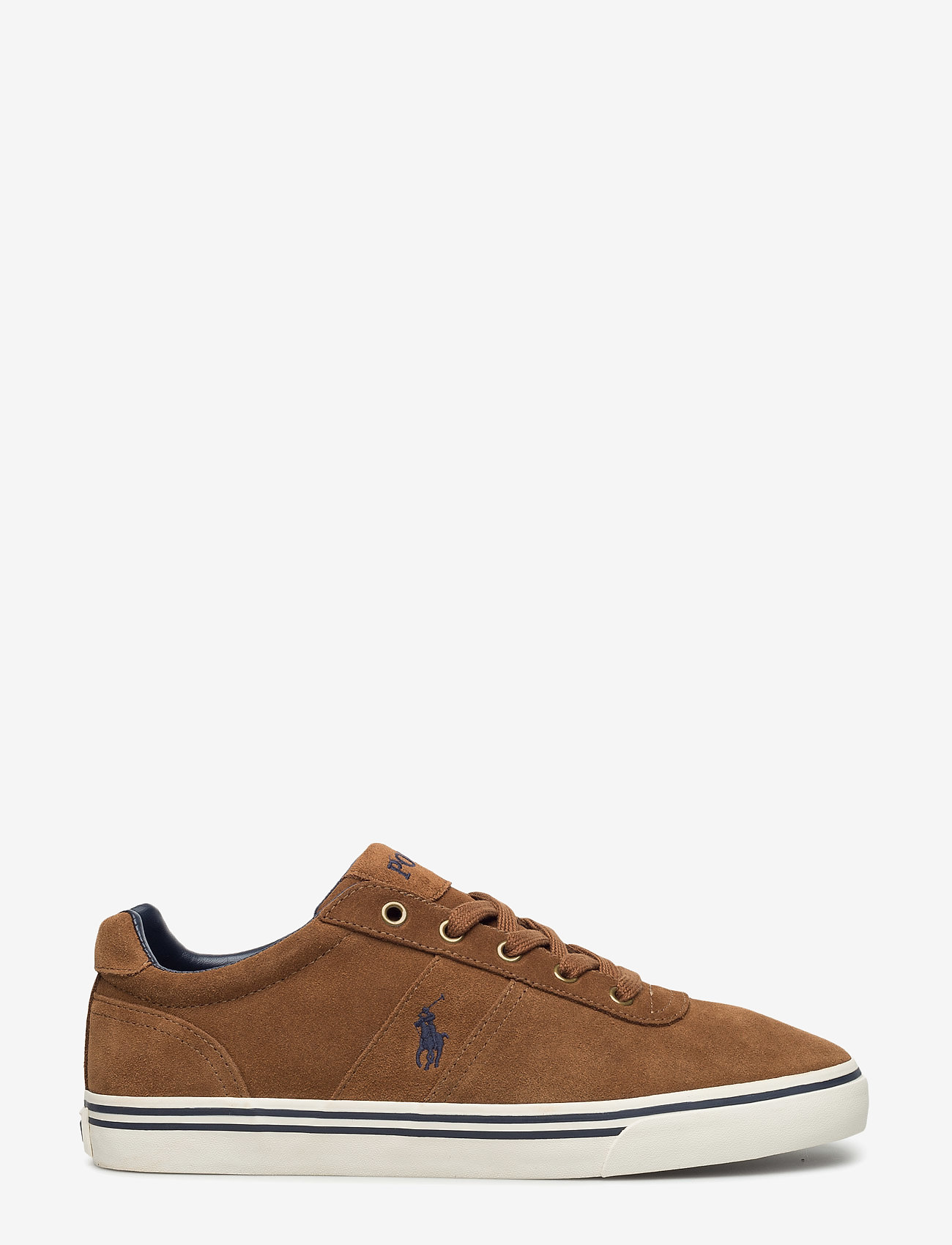 Polo Ralph Lauren - Hanford Suede Low-Top Sneaker - low tops - new snuff - 1