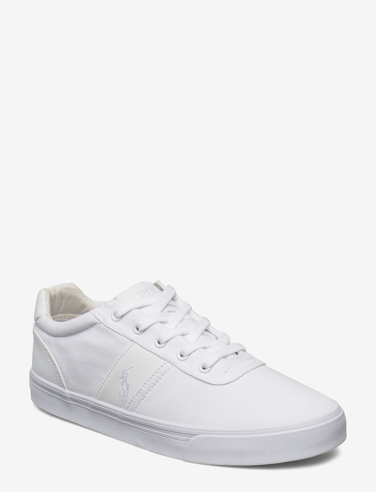 Polo Ralph Lauren - HANFORD-NE - låga sneakers - pure white - 0