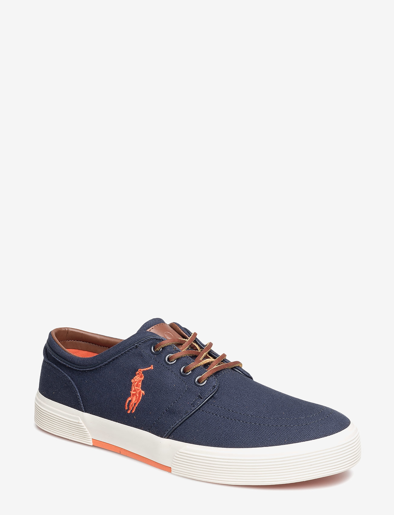 Polo Ralph Lauren - Faxon Low Canvas Sneaker - lave sneakers - navy - 0