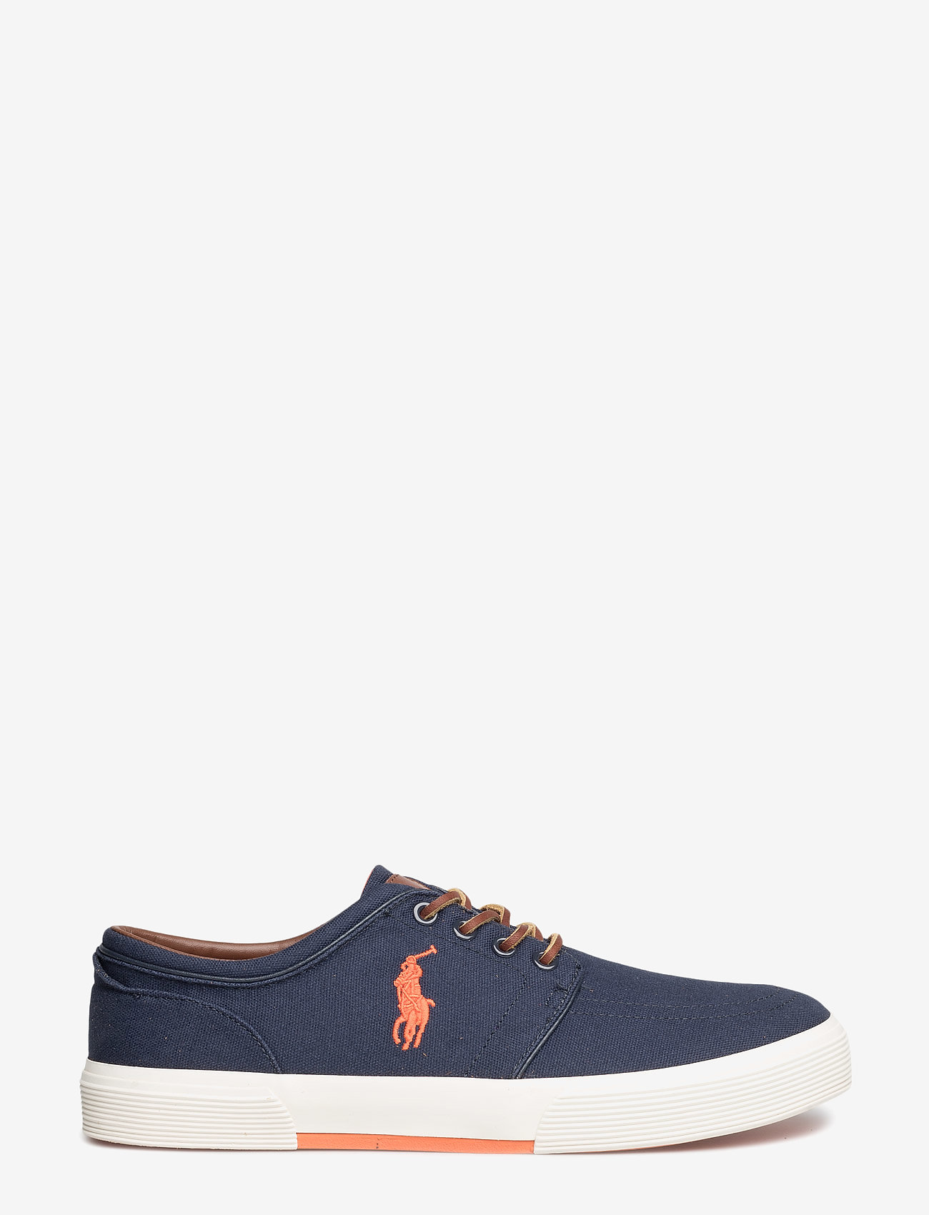 Polo Ralph Lauren - Faxon Low Canvas Sneaker - lave sneakers - navy - 1