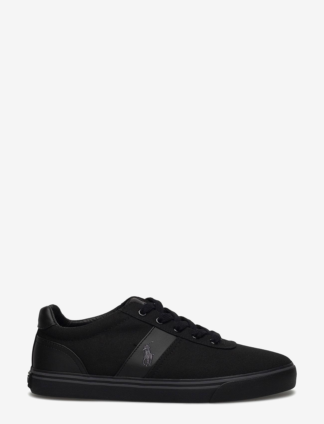 Polo Ralph Lauren - Hanford Canvas Sneaker - low tops - black/char/bck - 1