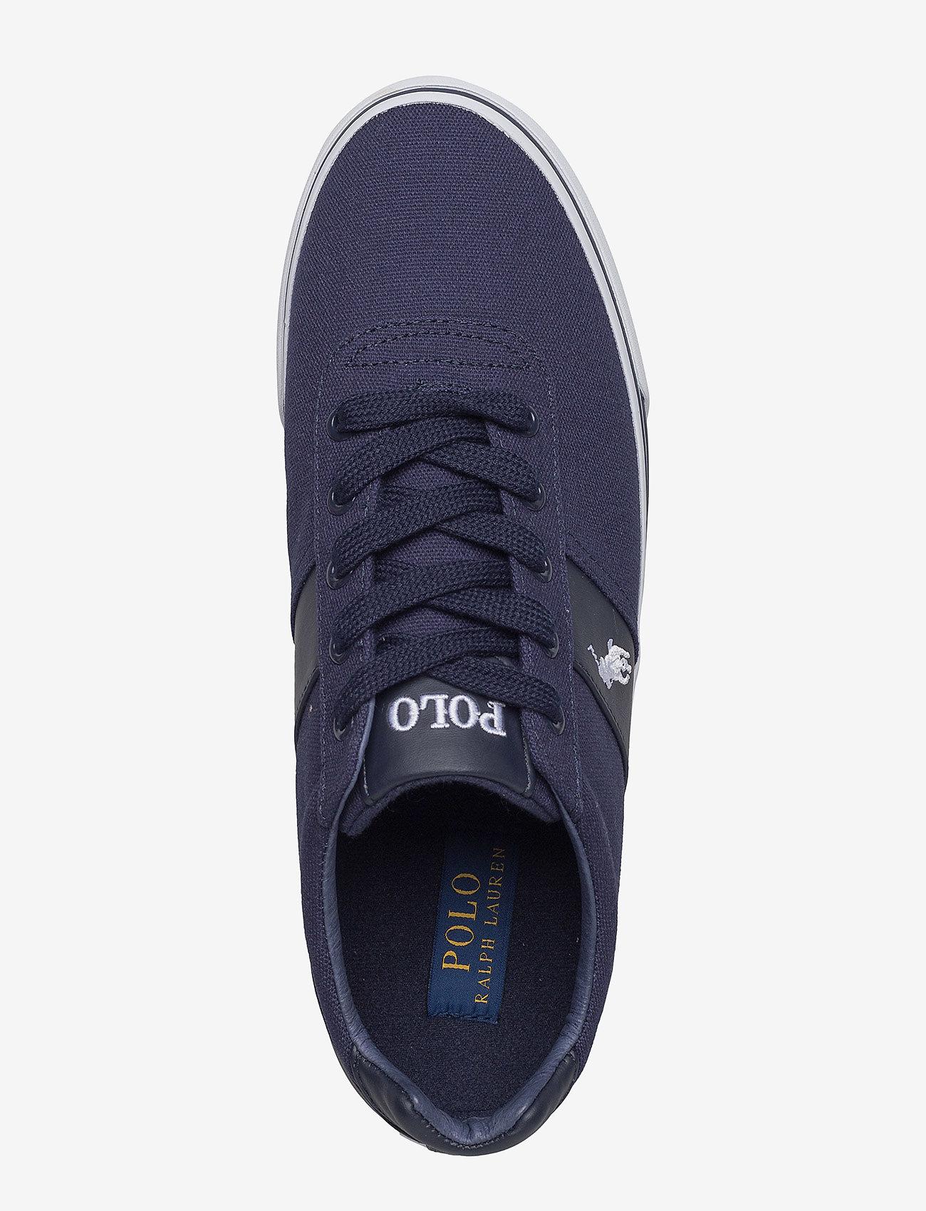Hanford Canvas Sneaker (Newport Navy) - Polo Ralph Lauren