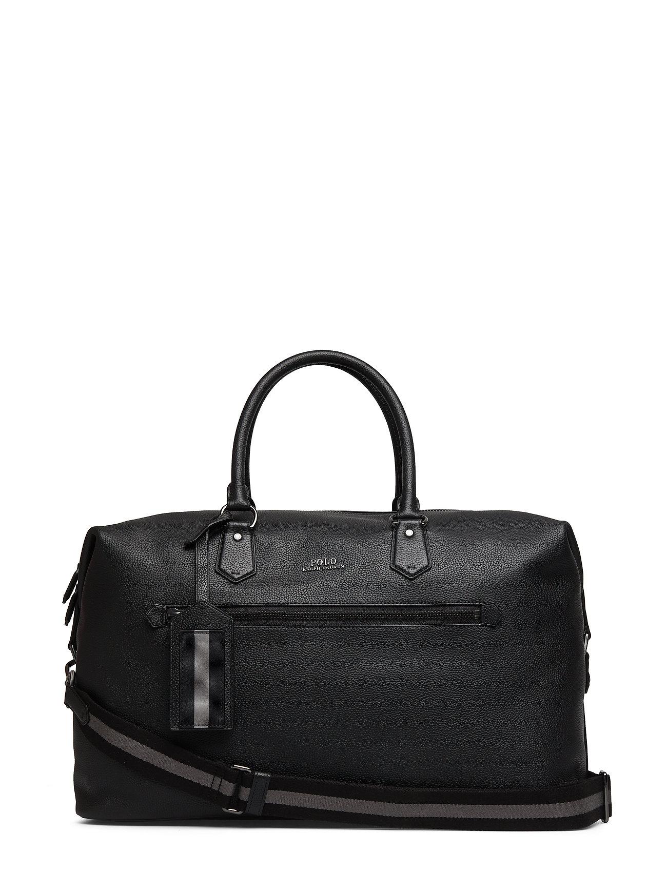 Polo Ralph Lauren Pebbled Leather Duffel Bag