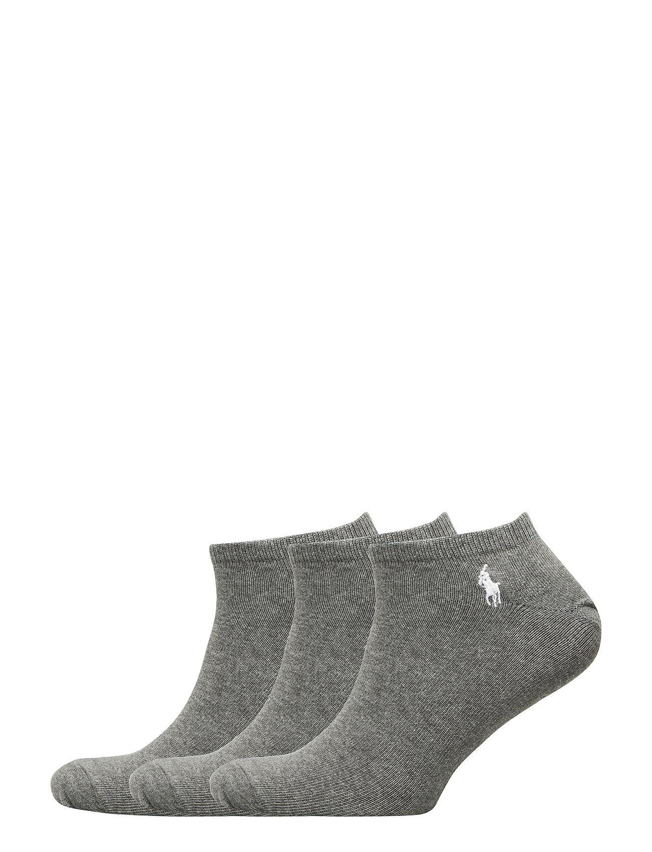 Polo Ralph Lauren 3P SLD L-CUT-CREW-3 PACK - FOSTER GREY HEATH