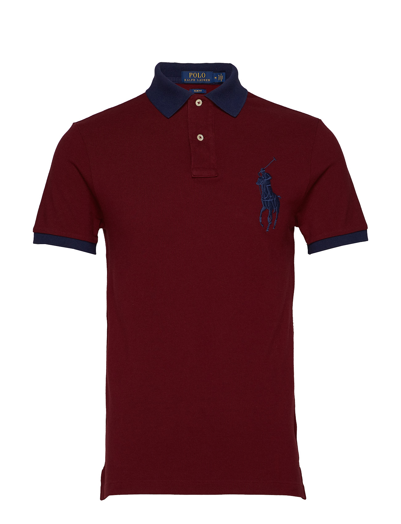 Polo Ralph Lauren Slim-Fit Big Pony Polo Shirt - CLASSIC WINE
