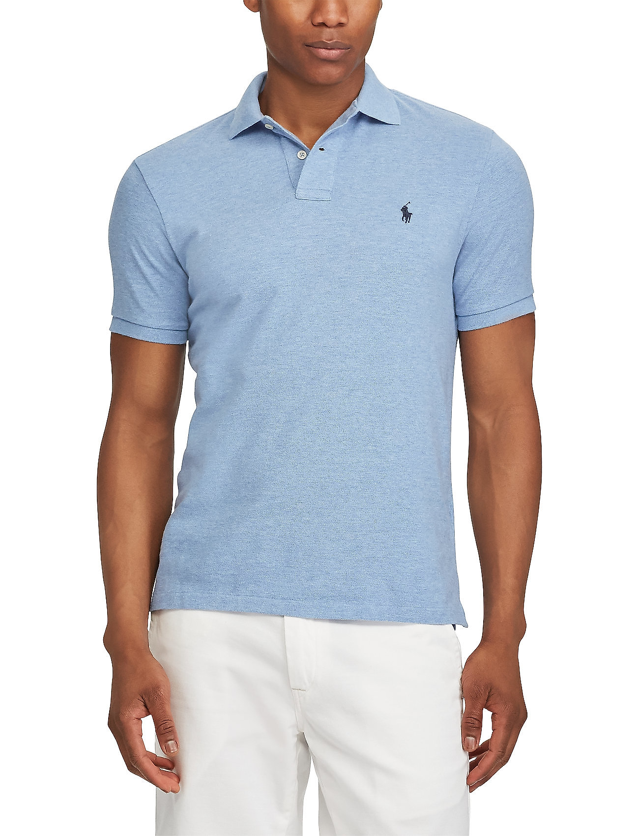Slim Fit Mesh Polo Shirt (Jamaica Heather) (99 €) - Polo Ralph Lauren - |  Boozt.com