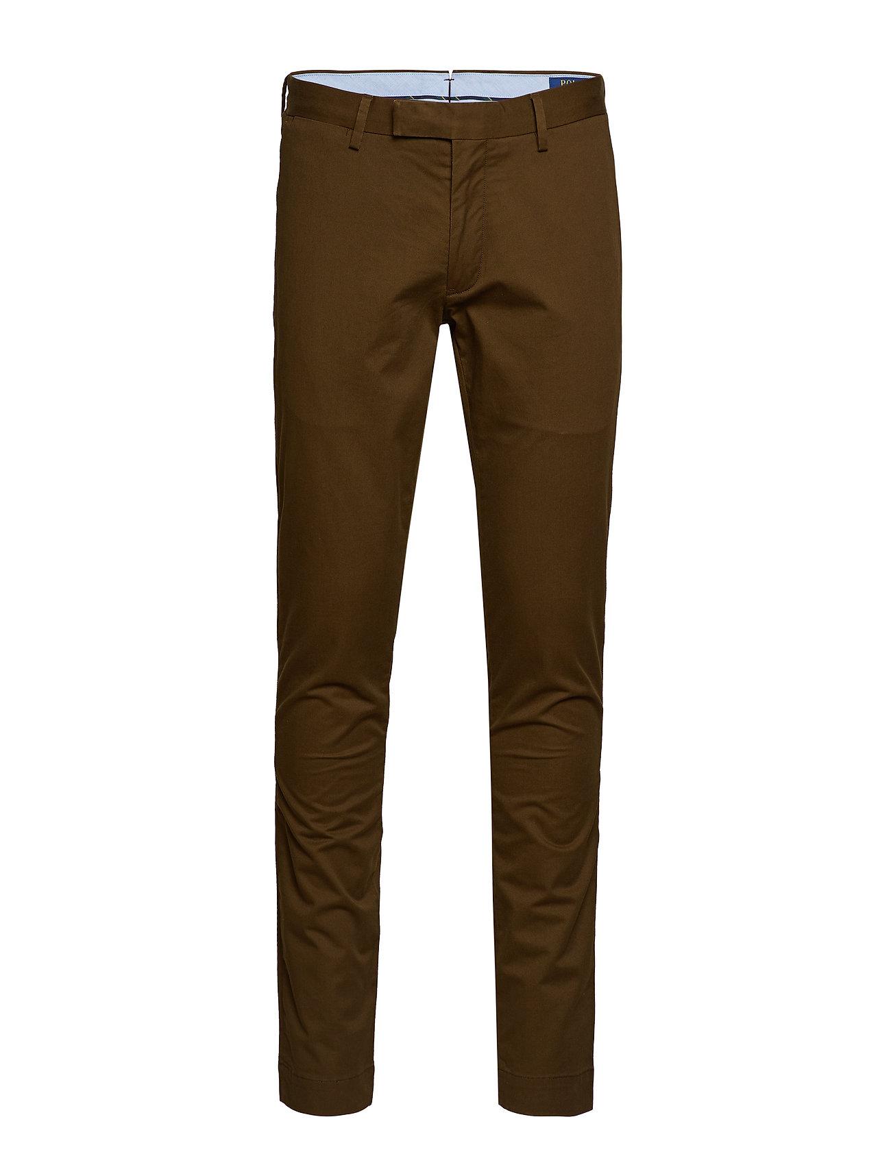 Polo Ralph Lauren TSLFHDNP-FLAT-PANT - HOLIDAY BROWN