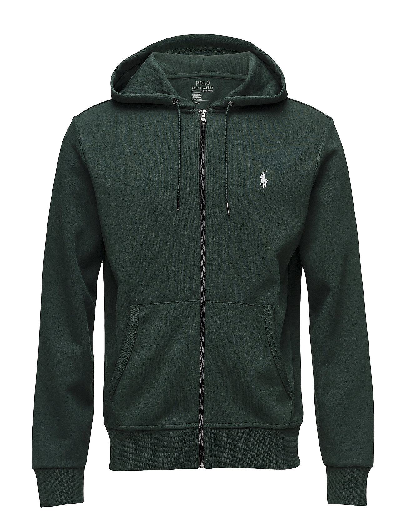 26036c8df5f Double-knit Full-zip Hoodie (College Green) (£75) - Polo Ralph ...
