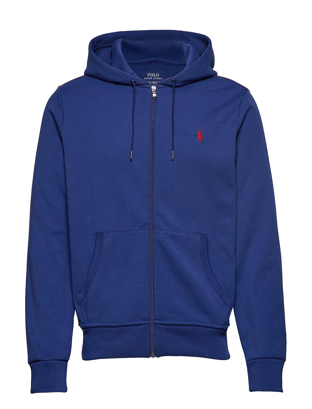Polo Ralph Lauren Double-Knit Full-Zip Hoodie - SPORTING ROYAL