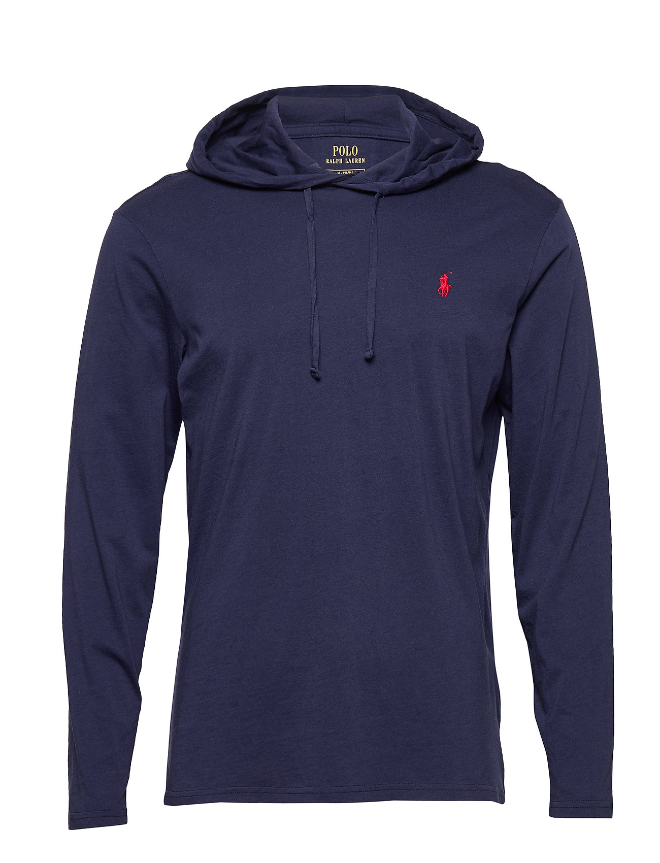 Polo Ralph Lauren Cotton Jersey Hooded T-Shirt - NEWPORT NAVY