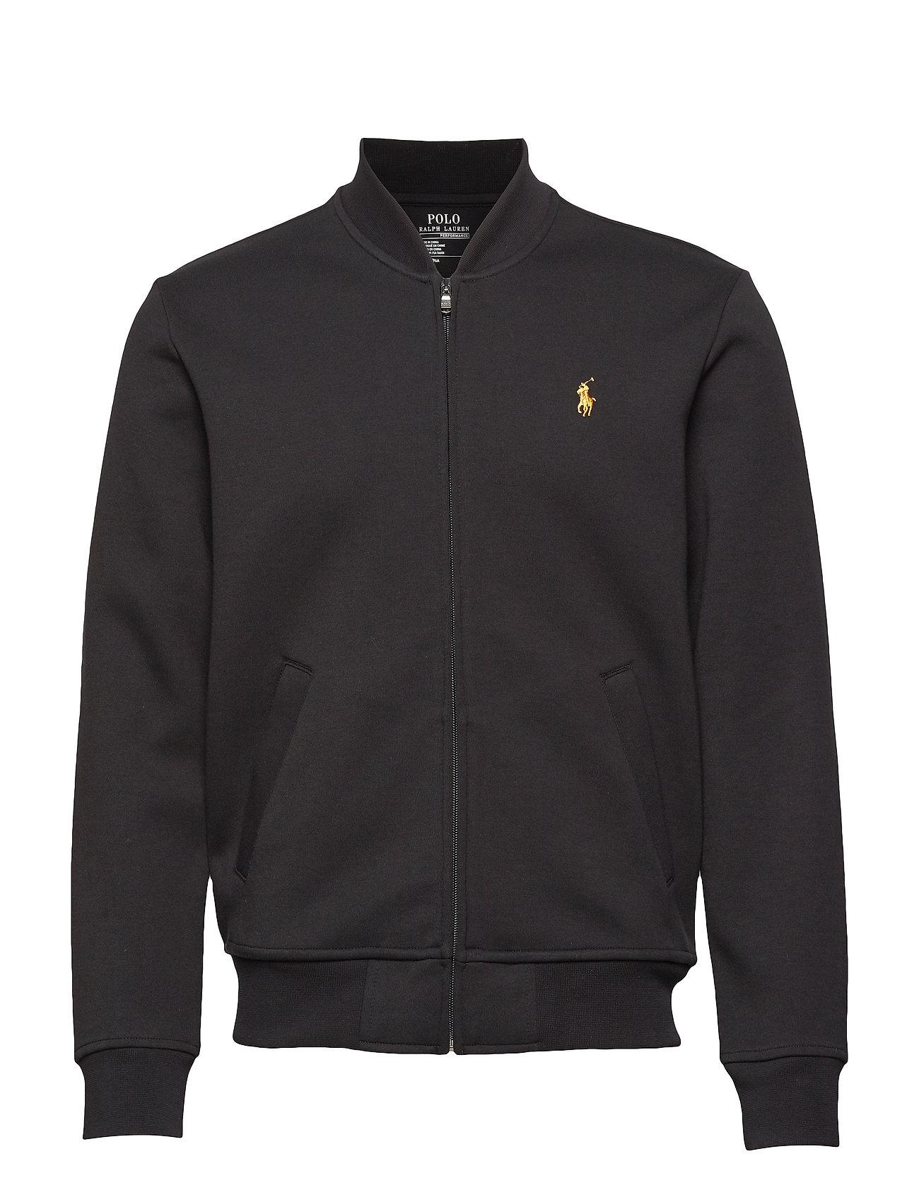 Polo Ralph Lauren Double-Knit Bomber Jacket - POLO BLACK/GOLD P