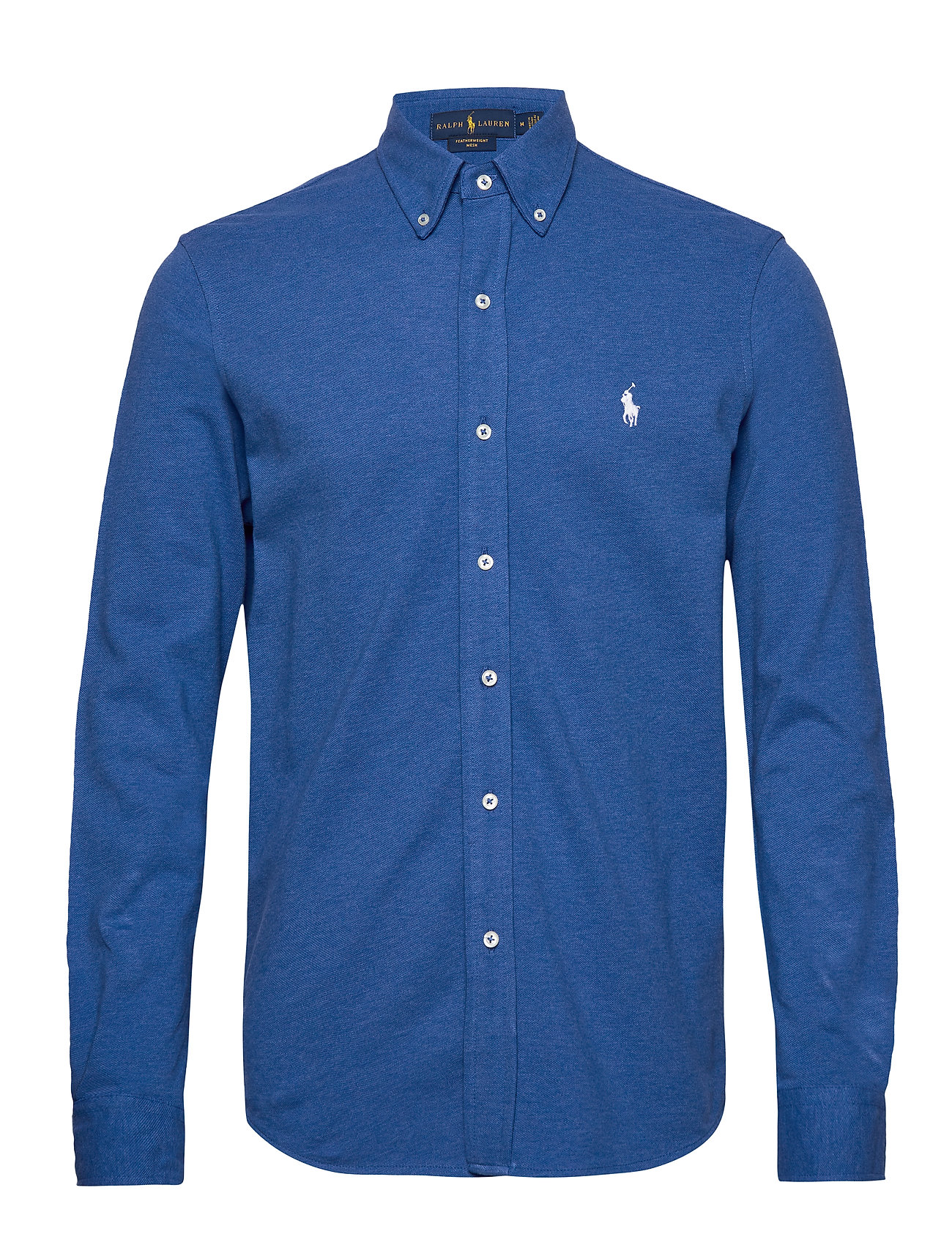 Polo Ralph Lauren Featherweight Mesh Shirt - DOCKSIDE BLUE HEA