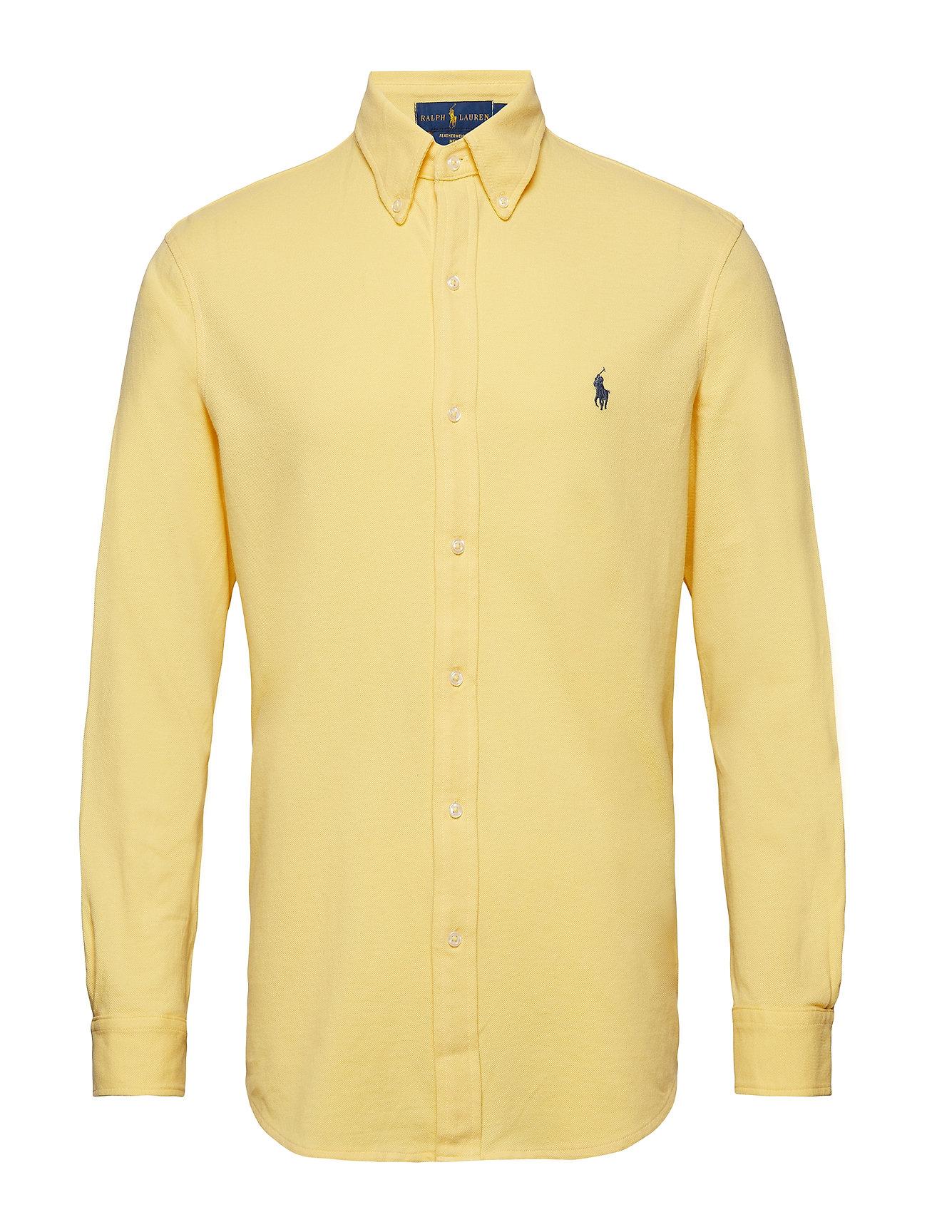 Polo Ralph Lauren Featherweight Mesh Shirt - EMPIRE YELLOW