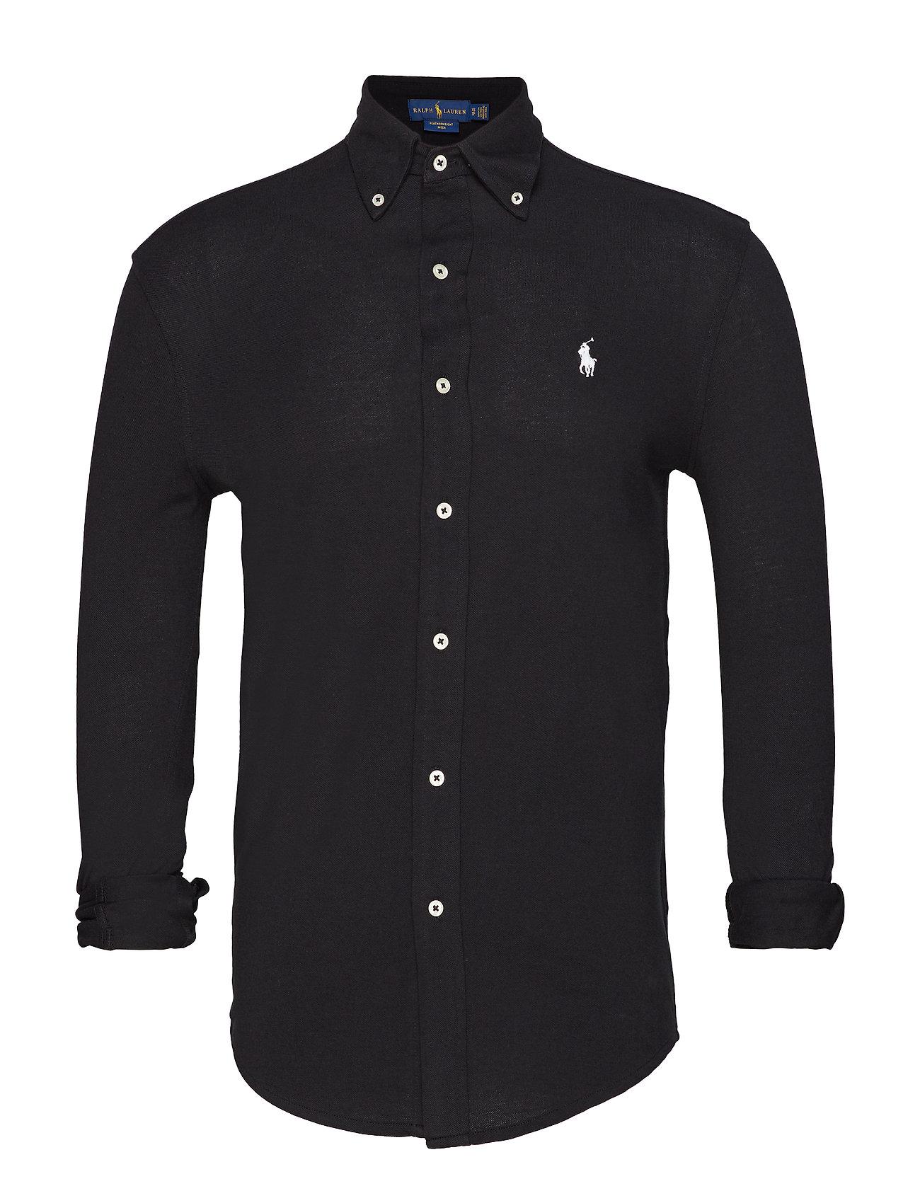 Polo Ralph Lauren Featherweight Mesh Shirt - POLO BLACK