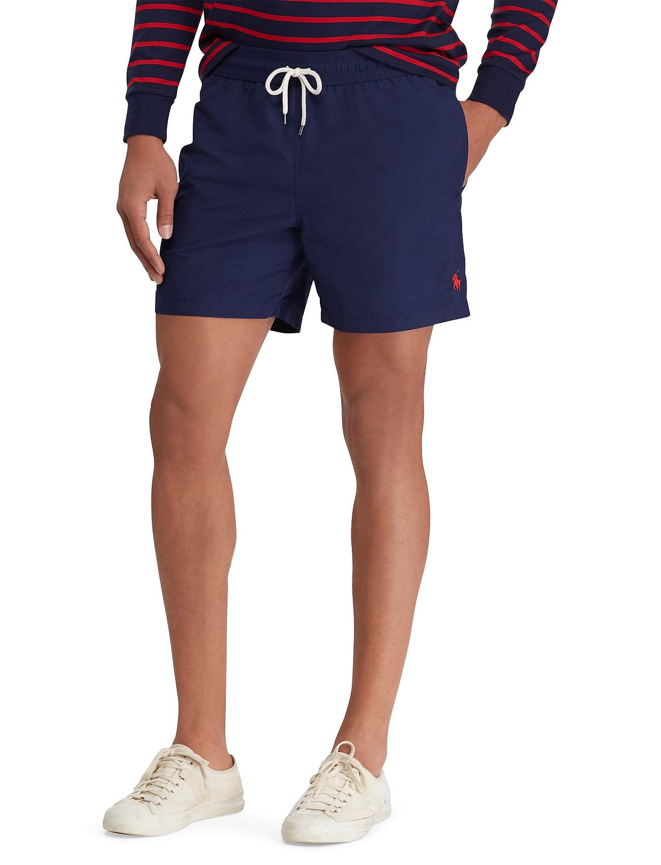 Polo Ralph Lauren - 5½-Inch Traveler Swim Trunk - badehosen - newport navy - 0