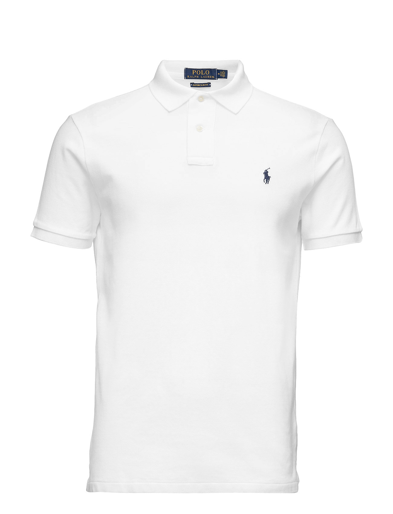 2e93dcb7 ... 2034f30c4 Custom Slim Fit Cotton Mesh Polo (White) (£75) - Polo;  d4cff3af5 Polo Ralph Lauren; 053247ffb Polo Ralph ...