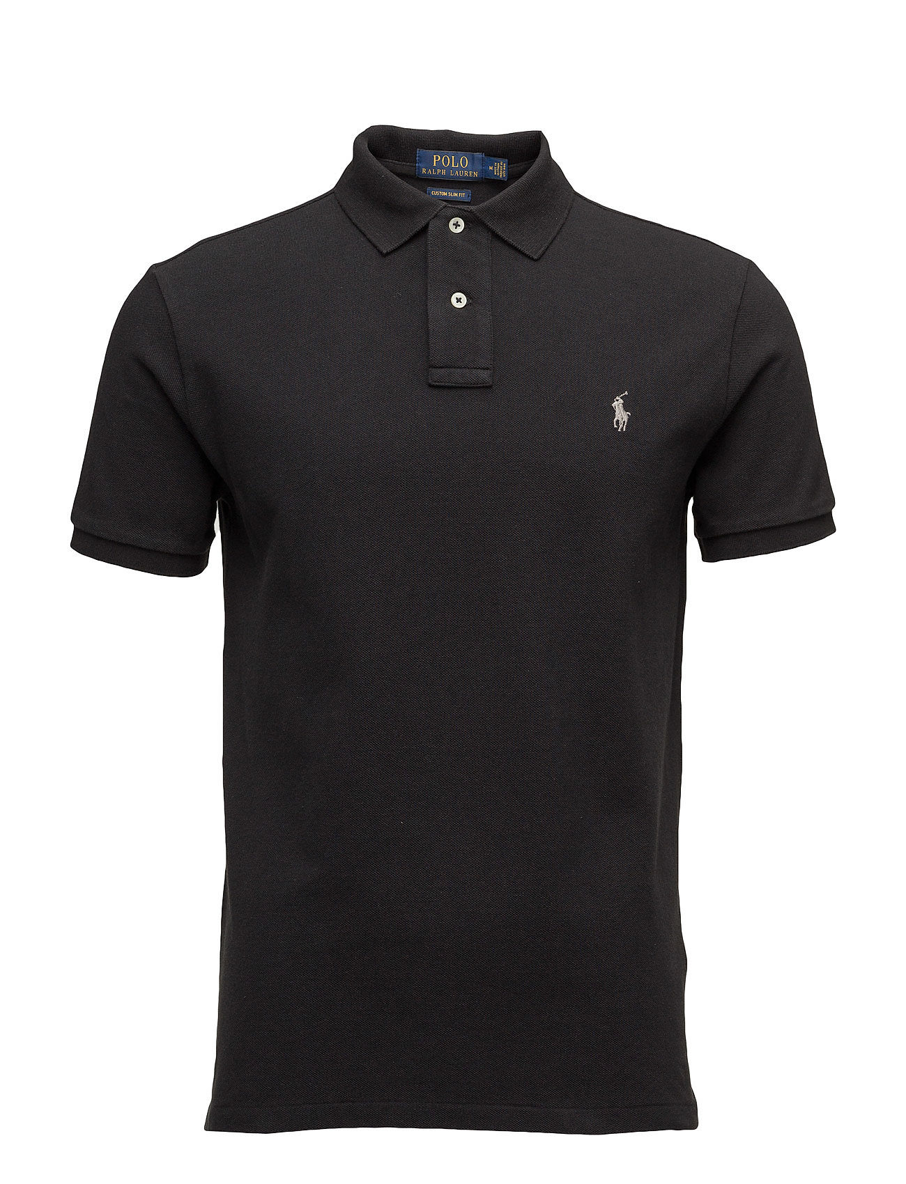 finest selection b2623 f33ea Custom Slim Fit Cotton Mesh Polo