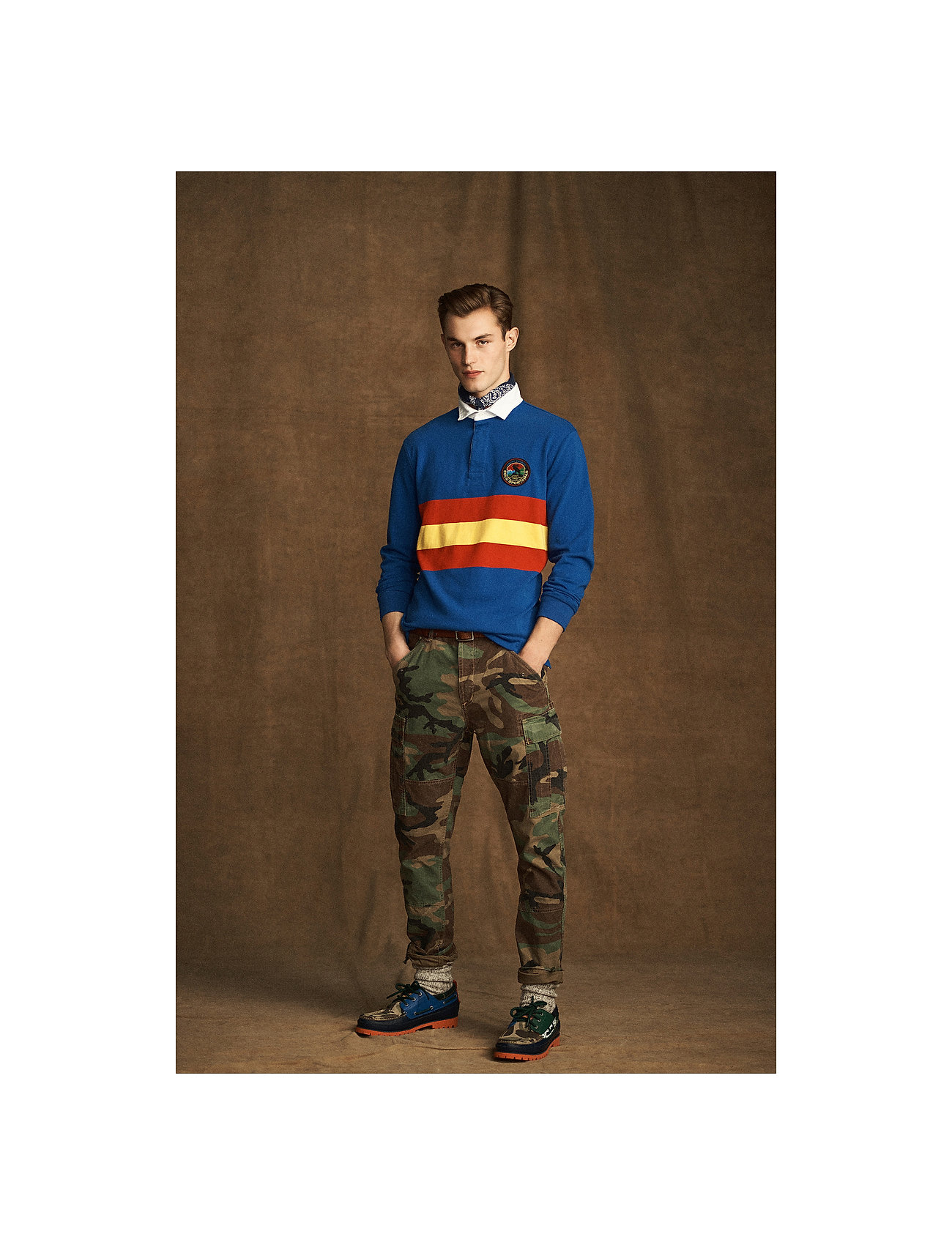 Polo Ralph Lauren - Classic Tapered Fit Cargo Pant - cargobukser - surplus camo - 0