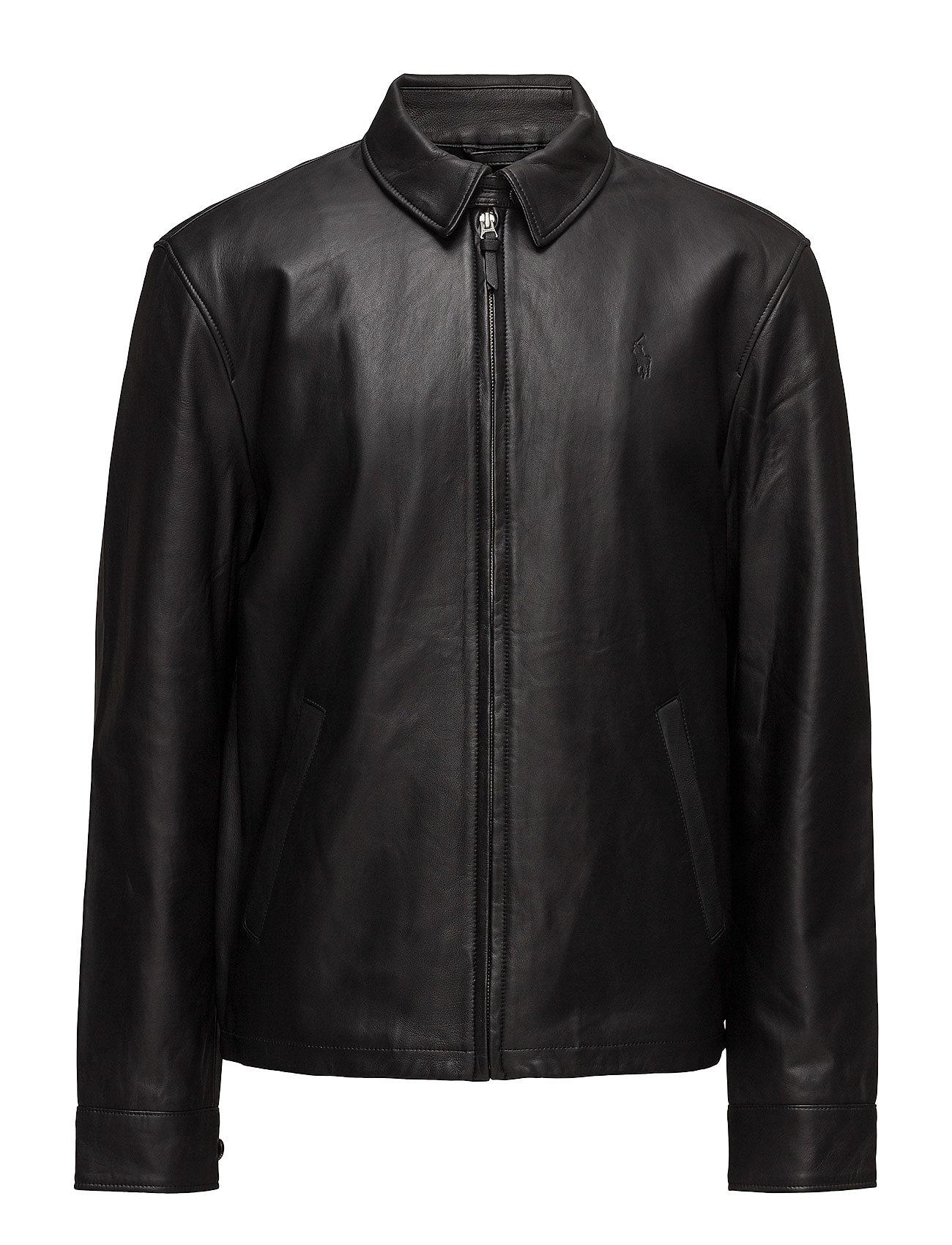 Polo Ralph Lauren Lambskin Leather Jacket Ytterkläder