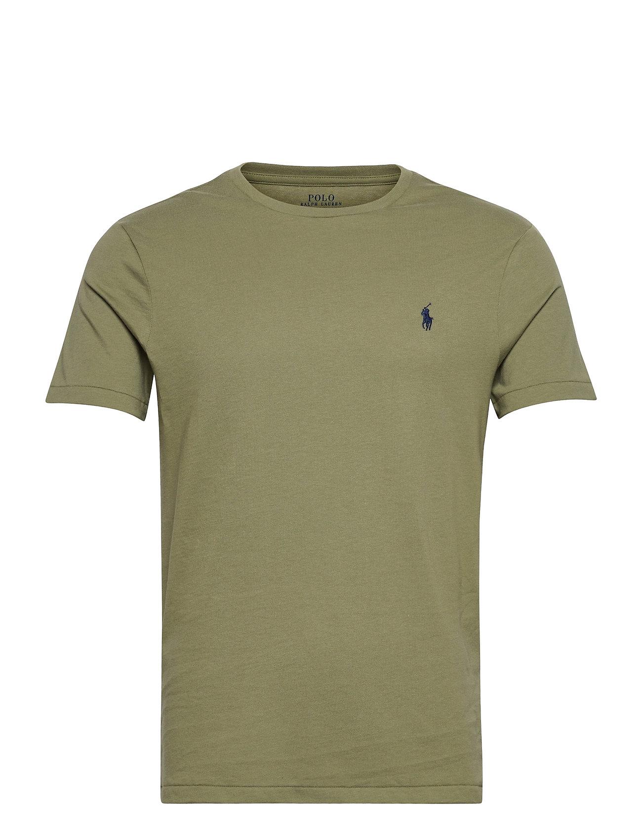 Polo Ralph Lauren - Custom Slim Crewneck T-Shirt - basic t-shirts - sage green/c7998 - 0