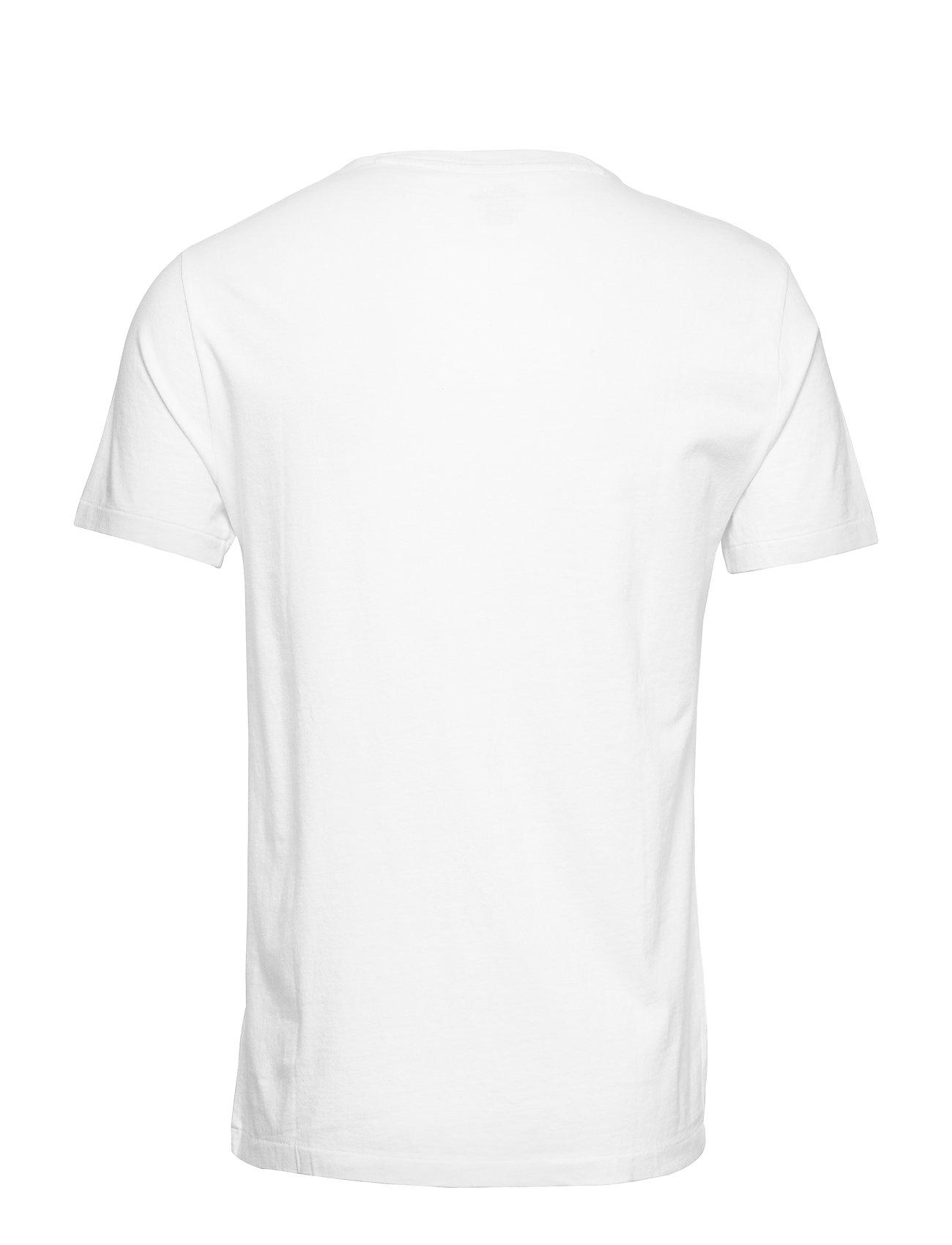 shirtwhitePolo Ralph Cotton Custom Slim T Lauren l1TKFJc