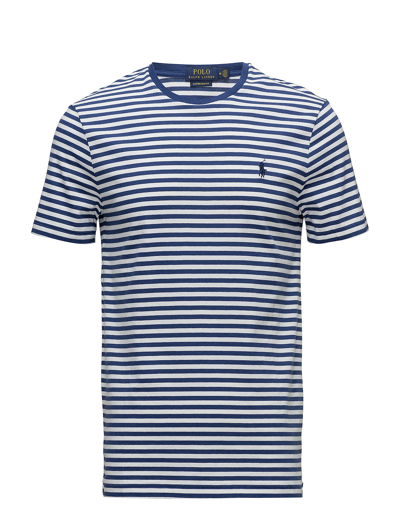 Polo Ralph Lauren Custom Slim Fit T-Shirt - ANNAPOLIS BLUE/WHITE