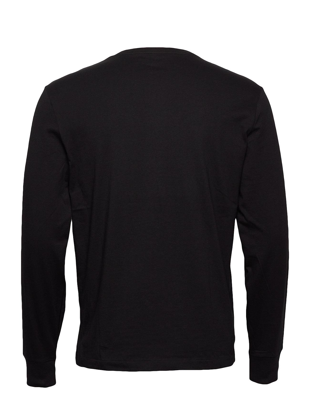 Lauren Sleeve Lscncmslm5 shirtpolo long BlackPolo Ralph t LSpGUMqzV