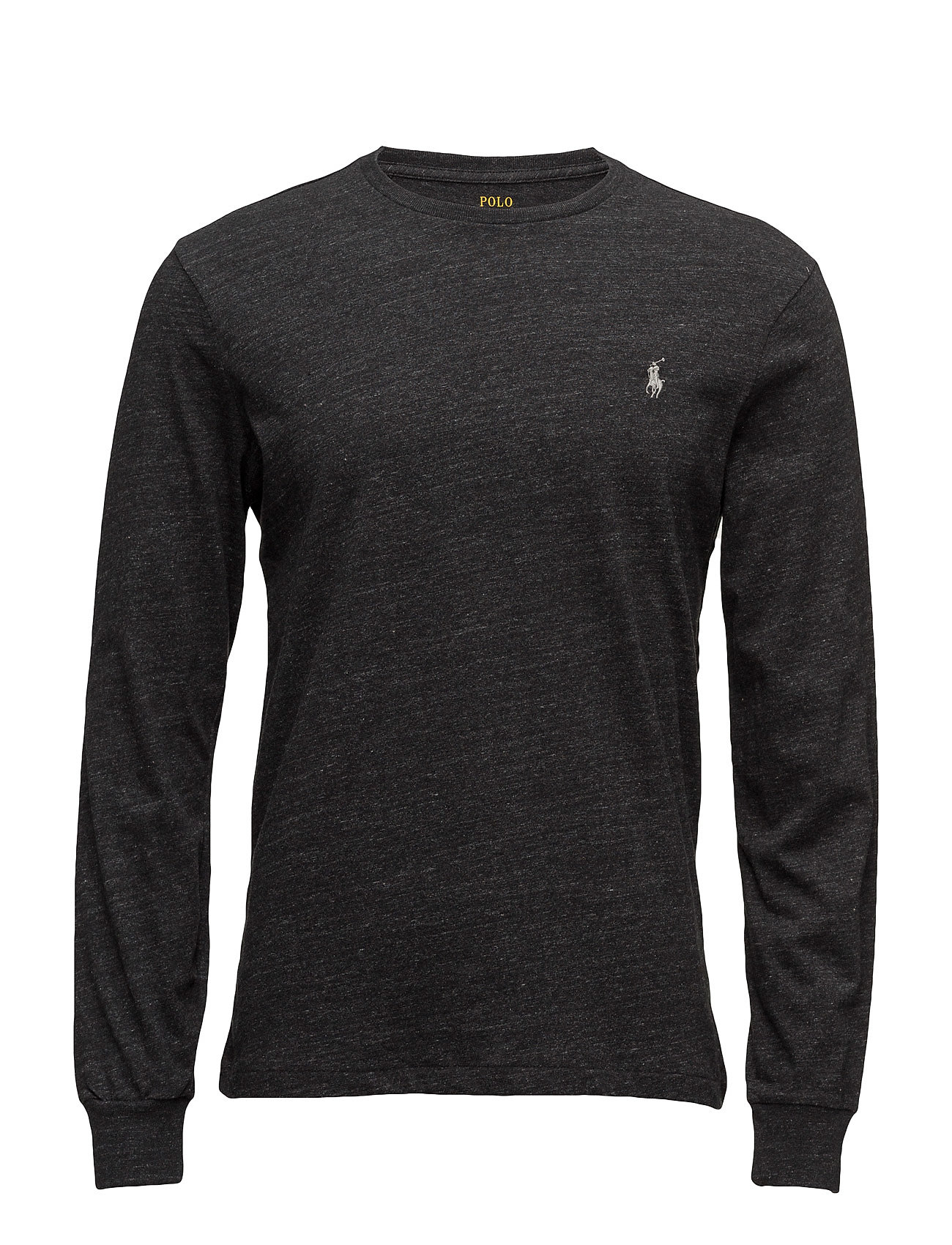 Polo Ralph Lauren LSCNCMSLM5-LONG SLEEVE-T-SHIRT - BLACK MARL HEATHE