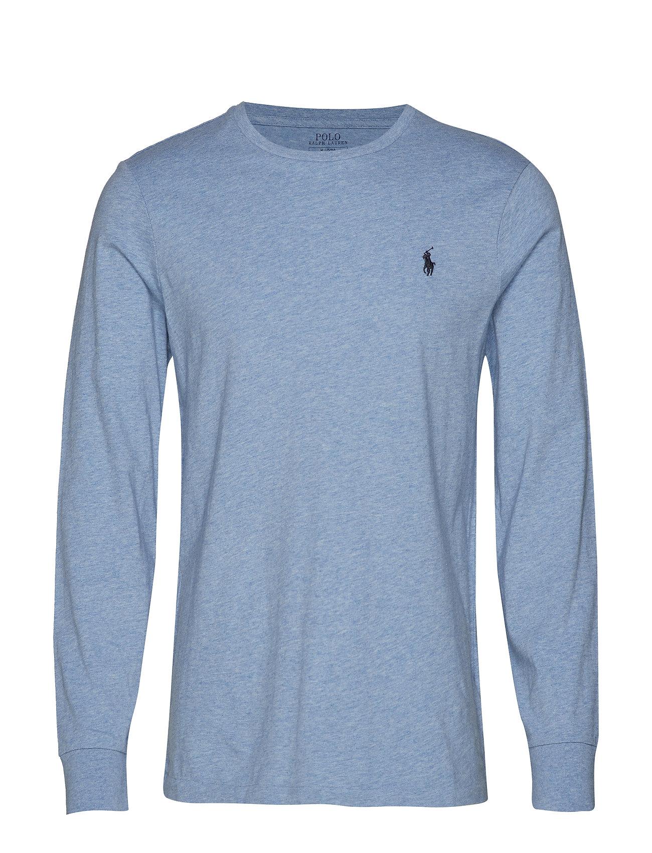 Long Sleeve-t-shirt (Jamaica Heather) (£59) - Polo Ralph Lauren ... 3b5e9a1d9836