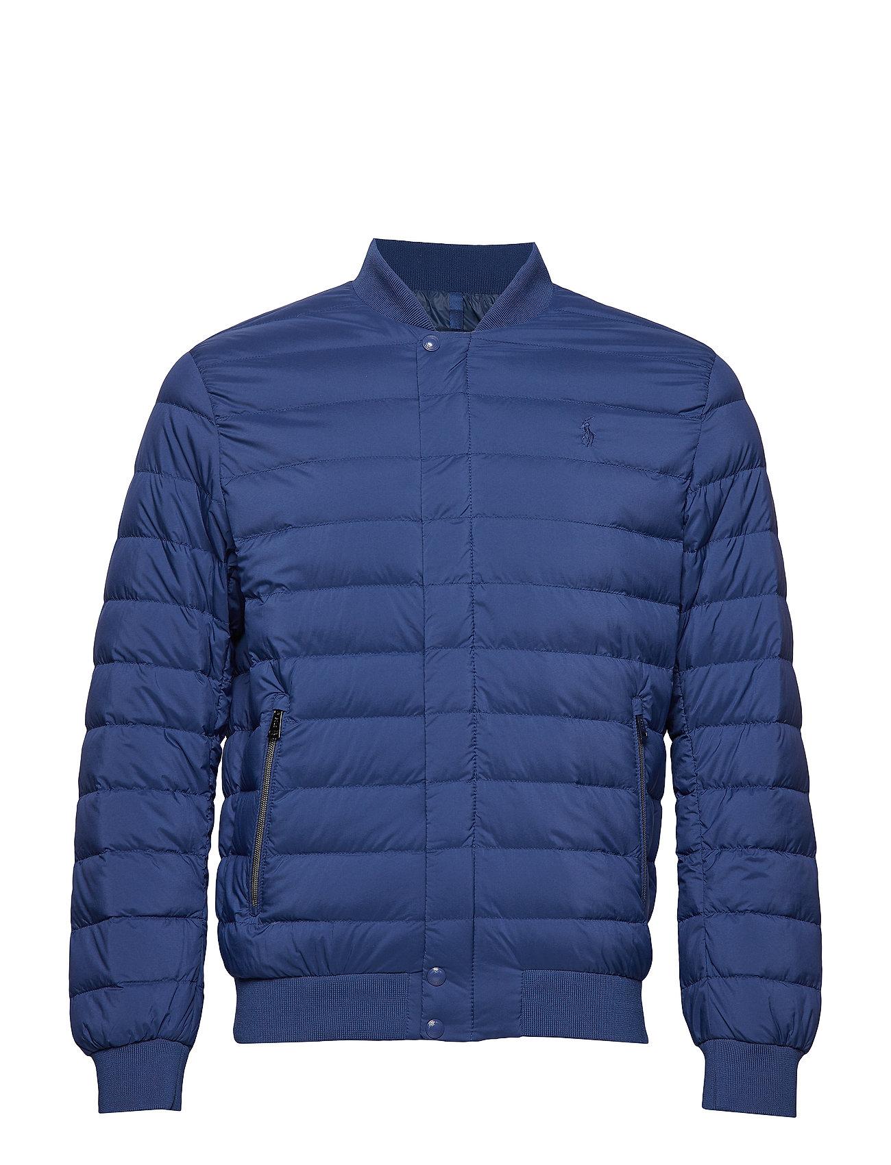 Polo Ralph Lauren Packable Down Baseball Jacket - ANNAPOLIS BLUE